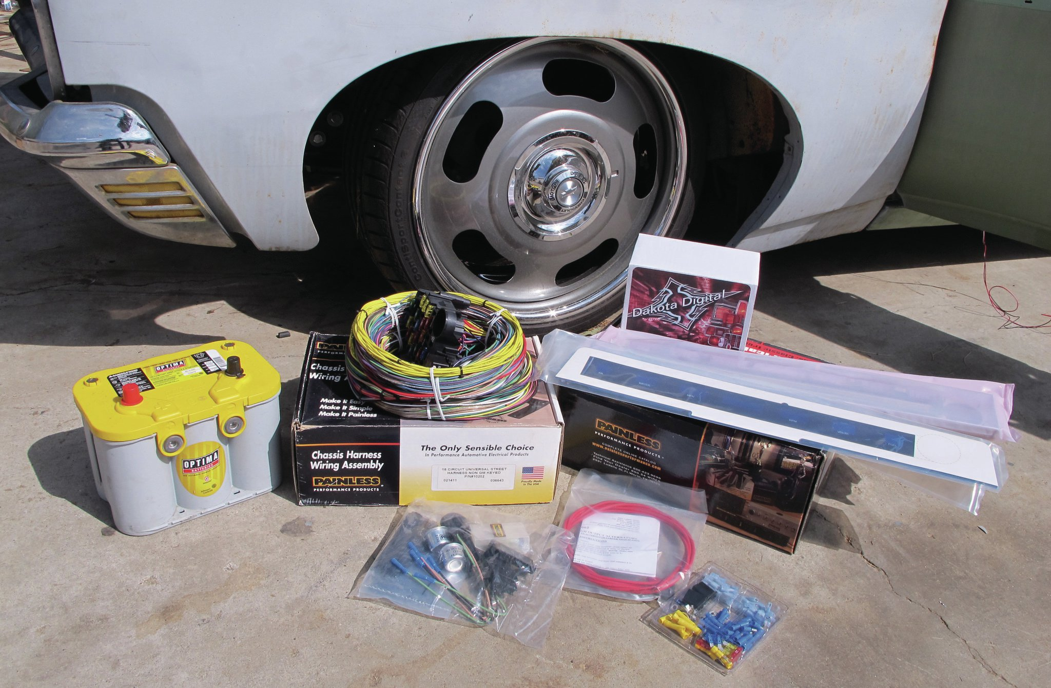 painless wiring kit a very painless rewire rh lowrider com
