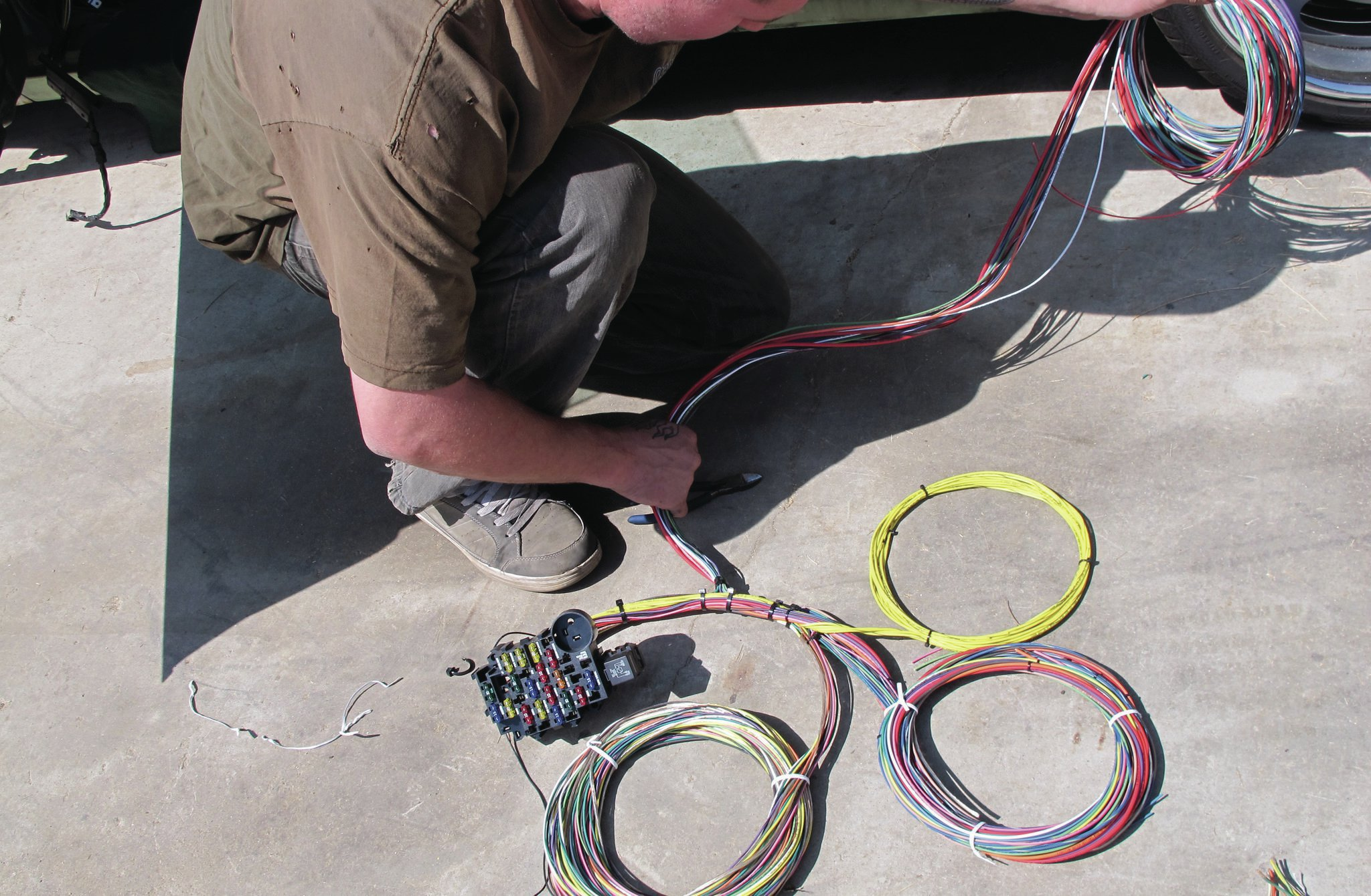 Painless Wiring Kit A Very Rewire Diagram Panel 6 23