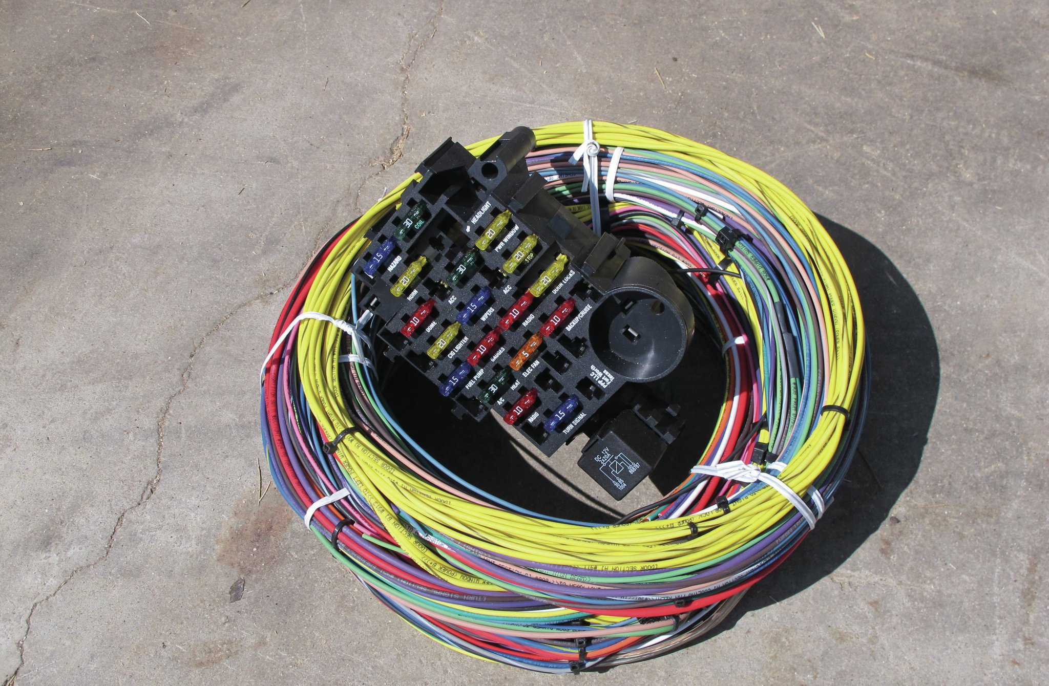 painless wiring kit - a very