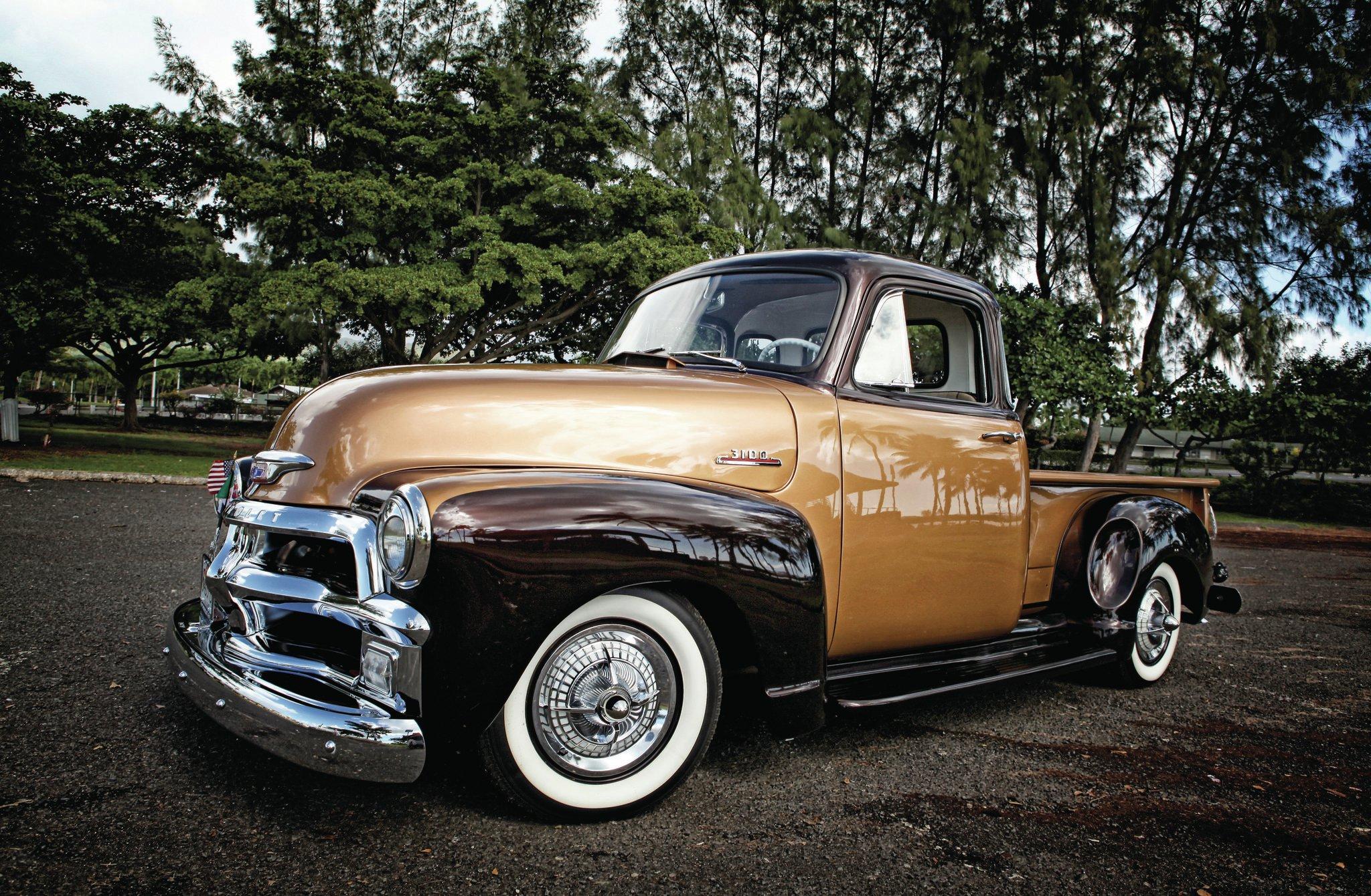 1954 Chevrolet 3100 Hawaiian Stepside Chevy Pickup Truck 2 18