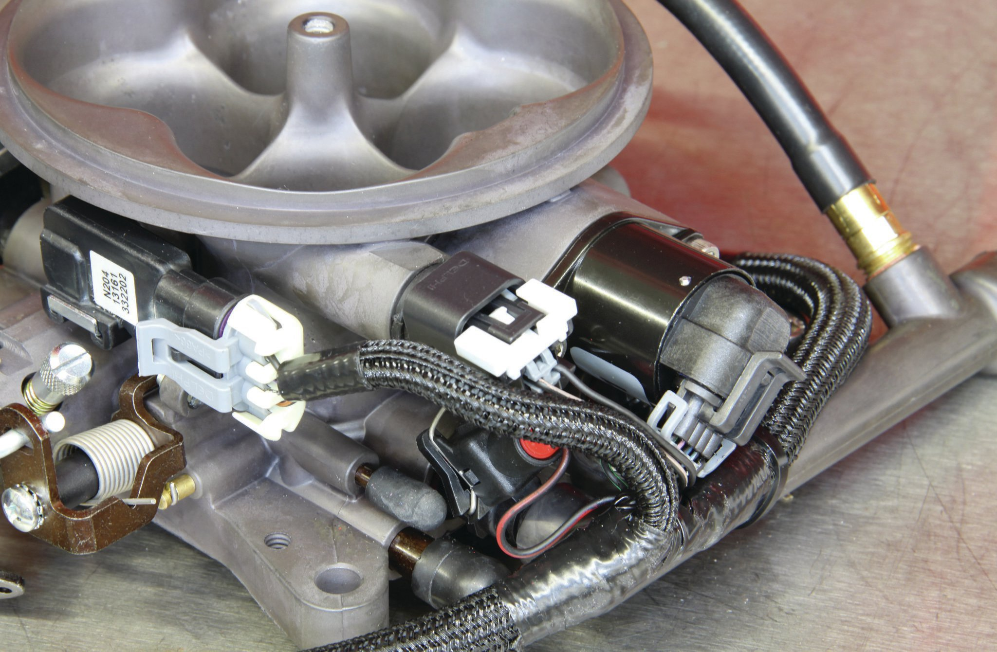 Holley Terminator Efi Kit Install Sensors