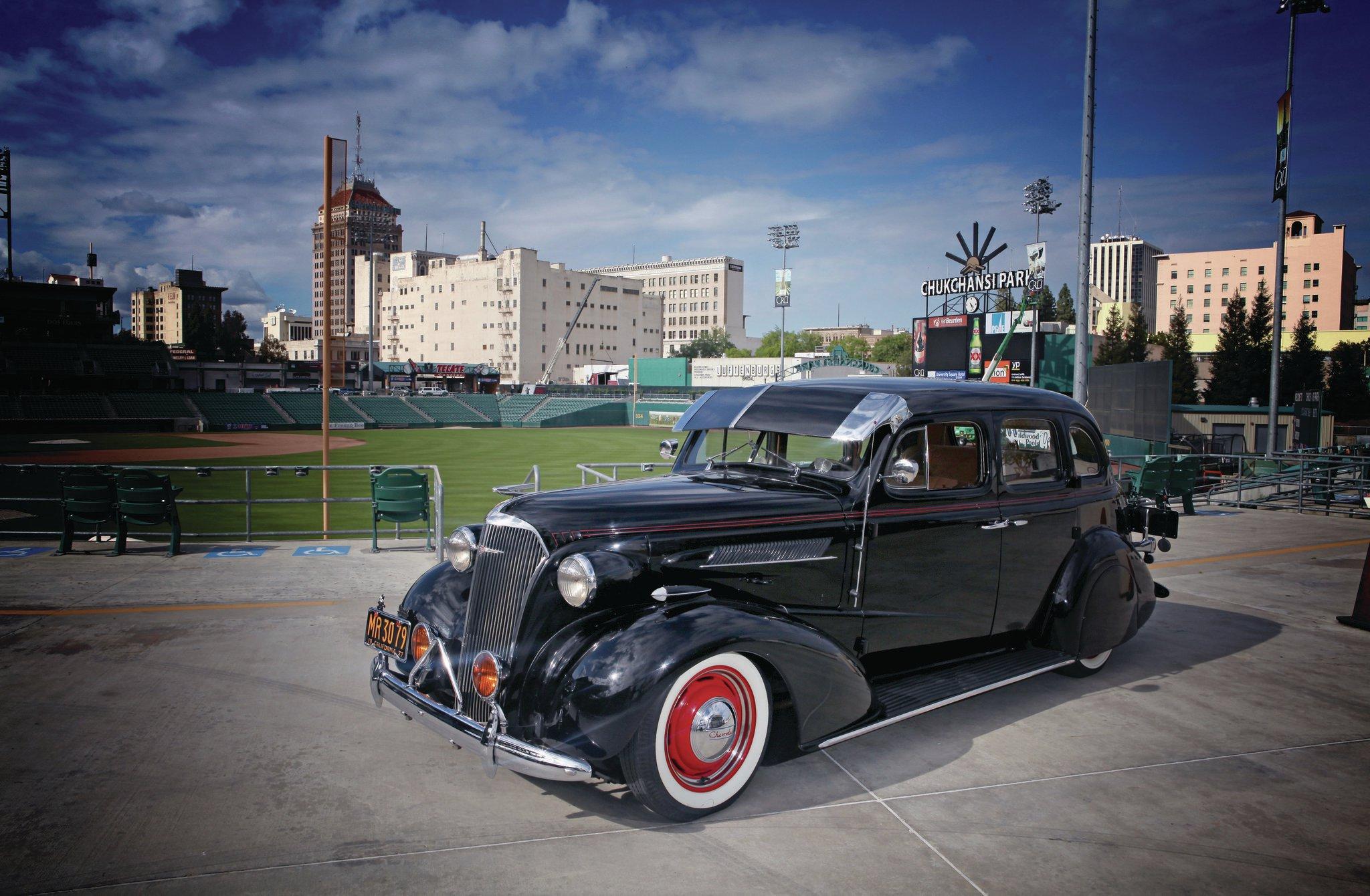 1937 Chevrolet Master Deluxe Black 37