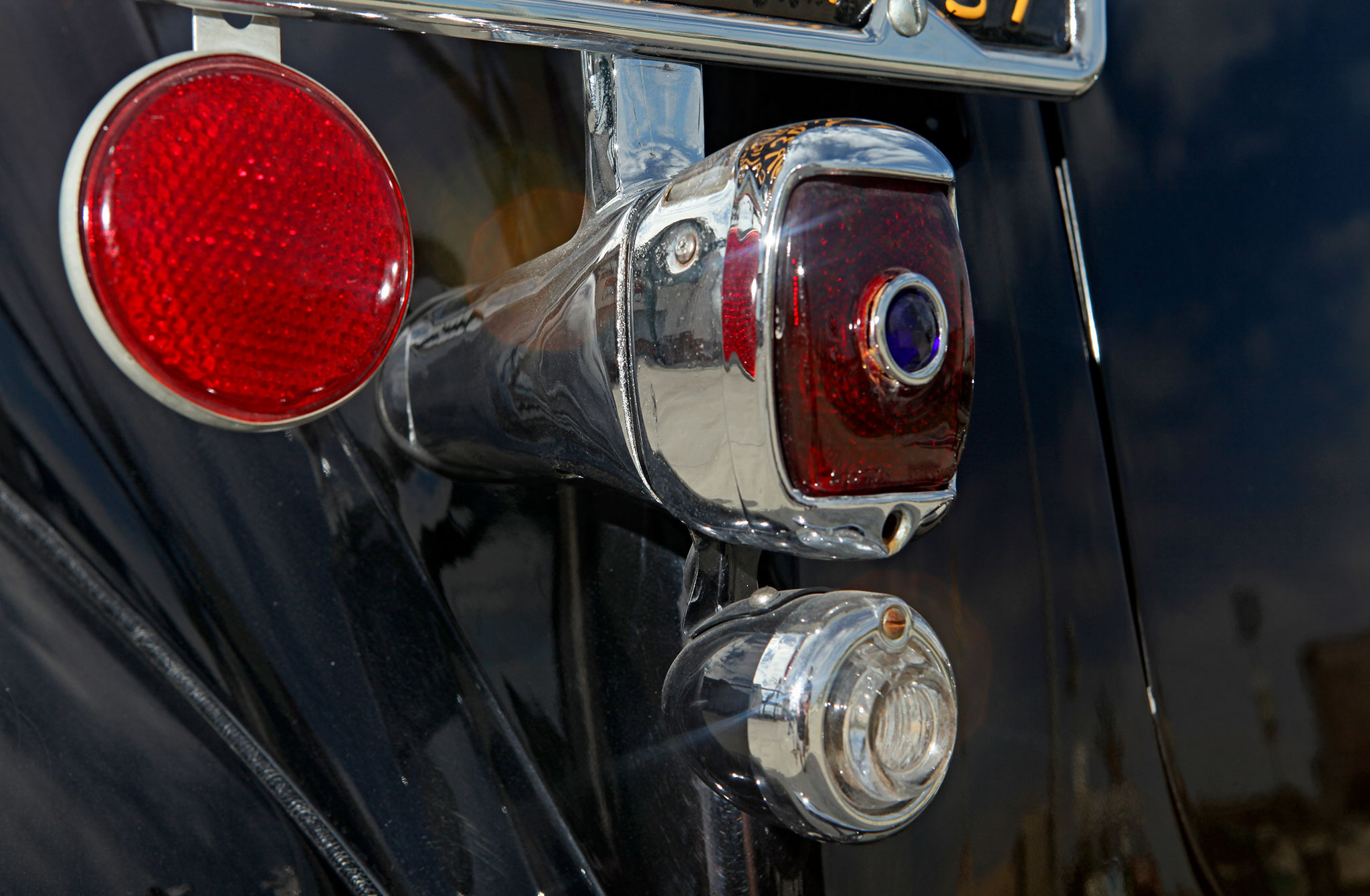 1937 Chevrolet Master Deluxe Taillight 13 Lowrider Tail Light