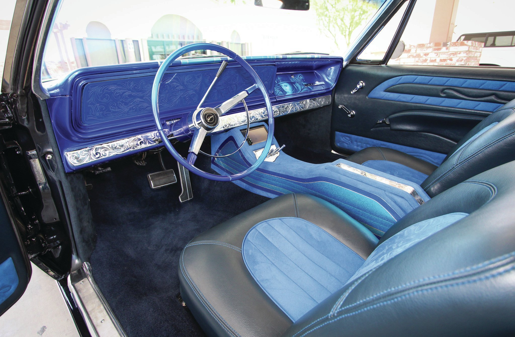 Remarkable 1966 Chevrolet Impala Interior By Unlimited Upholstery 08 Theyellowbook Wood Chair Design Ideas Theyellowbookinfo