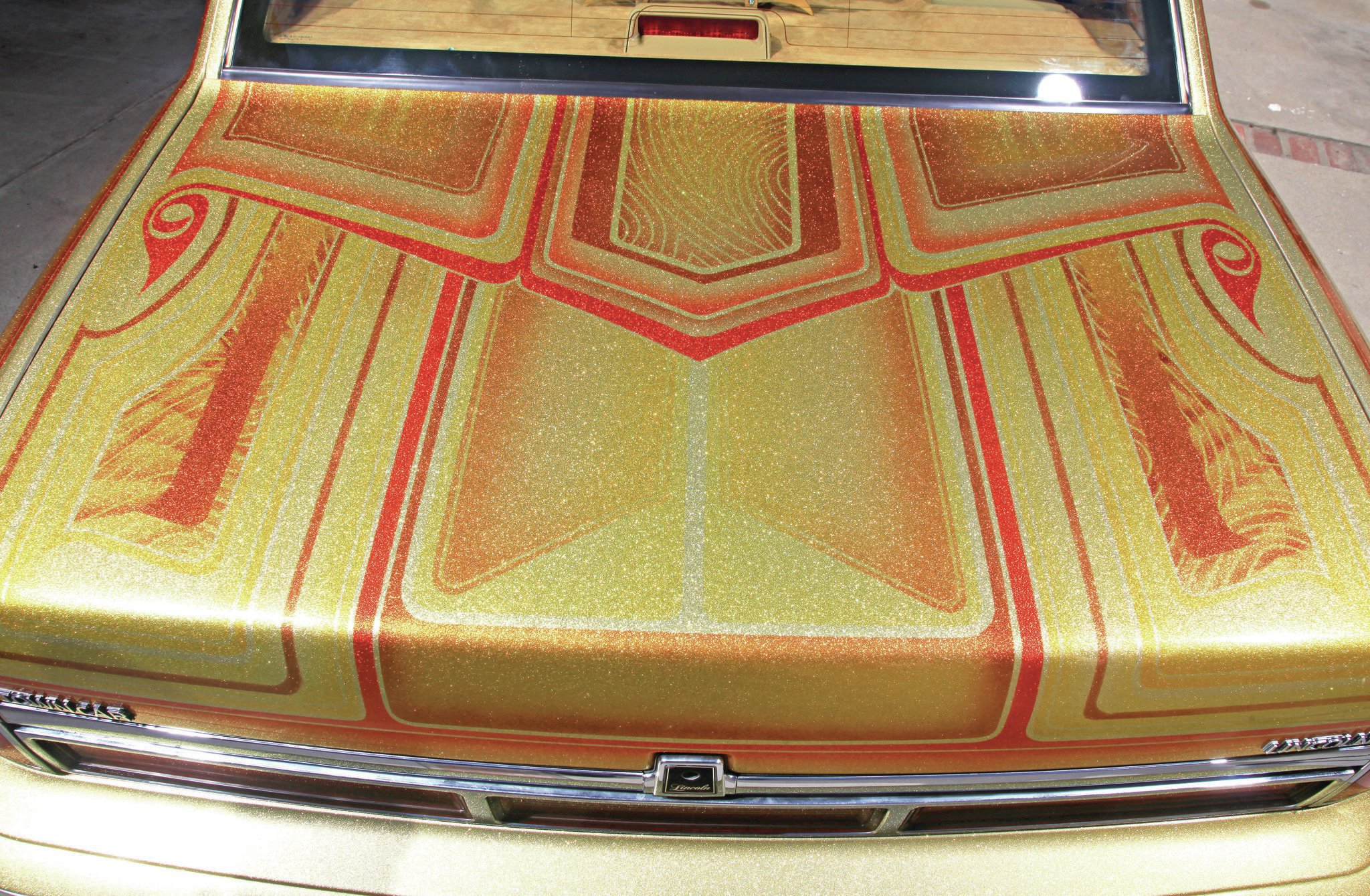 1997 Lincoln Town Car Custom Trunk Lid 08 Lowrider