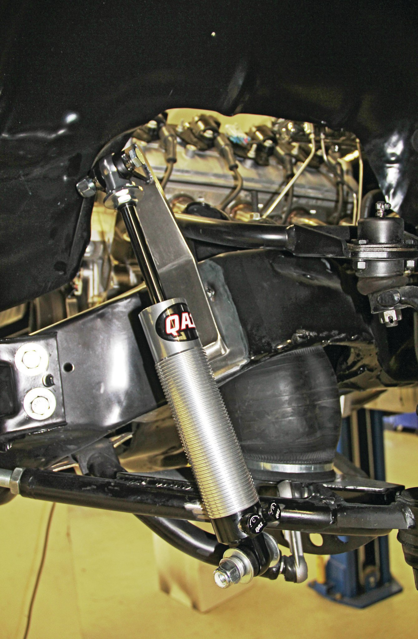 Air Ride Suspension System Install - Air Lowrider
