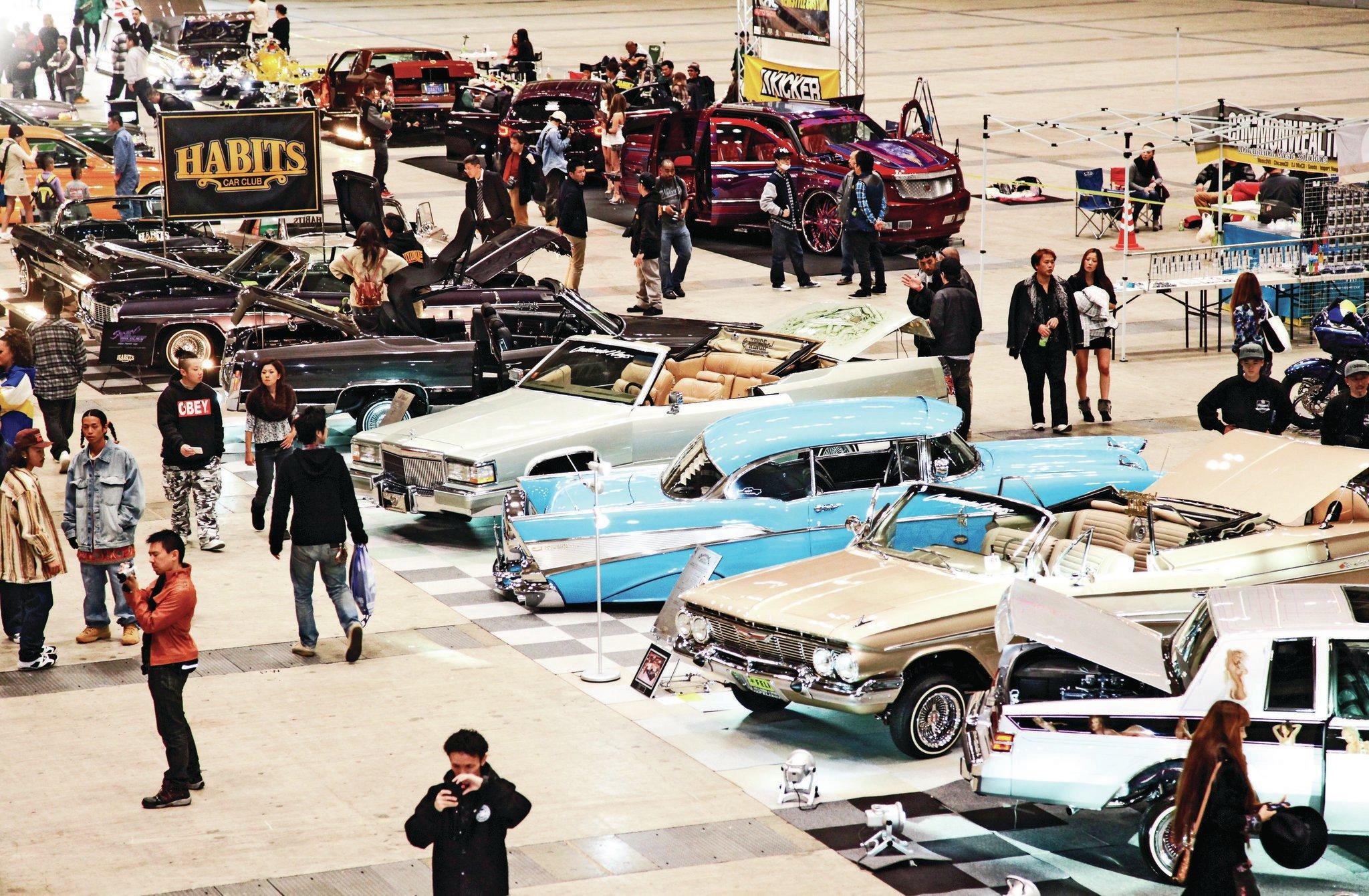 Japan Lowrider Car Show