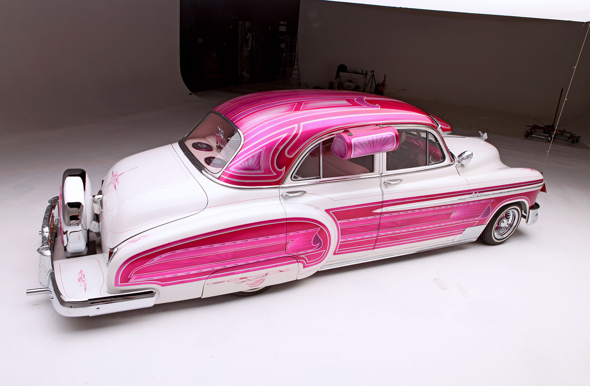 Classic Chevrolet Beaumont >> 1950 Chevrolet Deluxe - Pretty In Pink And A Deluxe