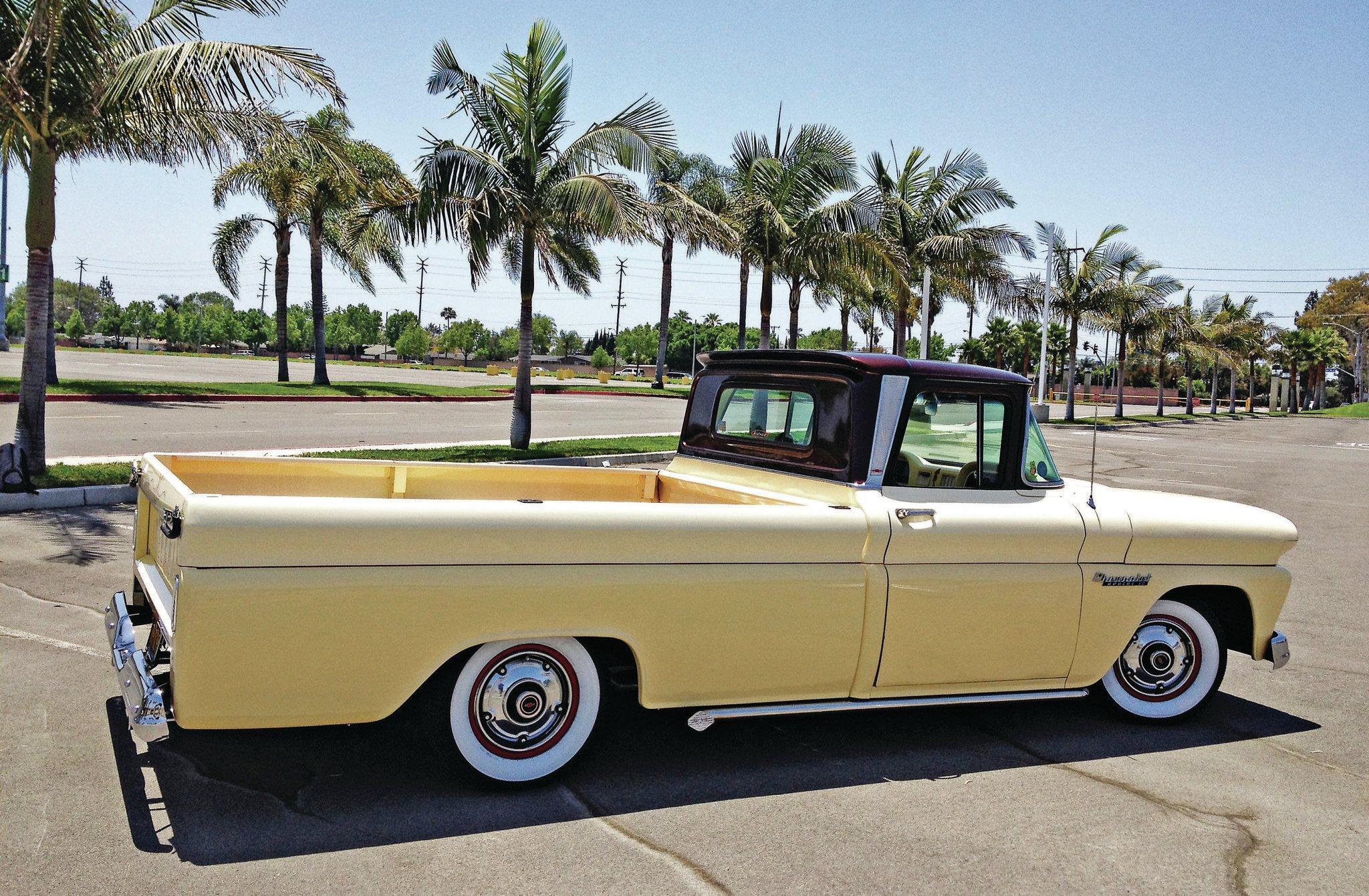 Chevy Truck Wheels >> 1960 Chevrolet Apache - OC Apache