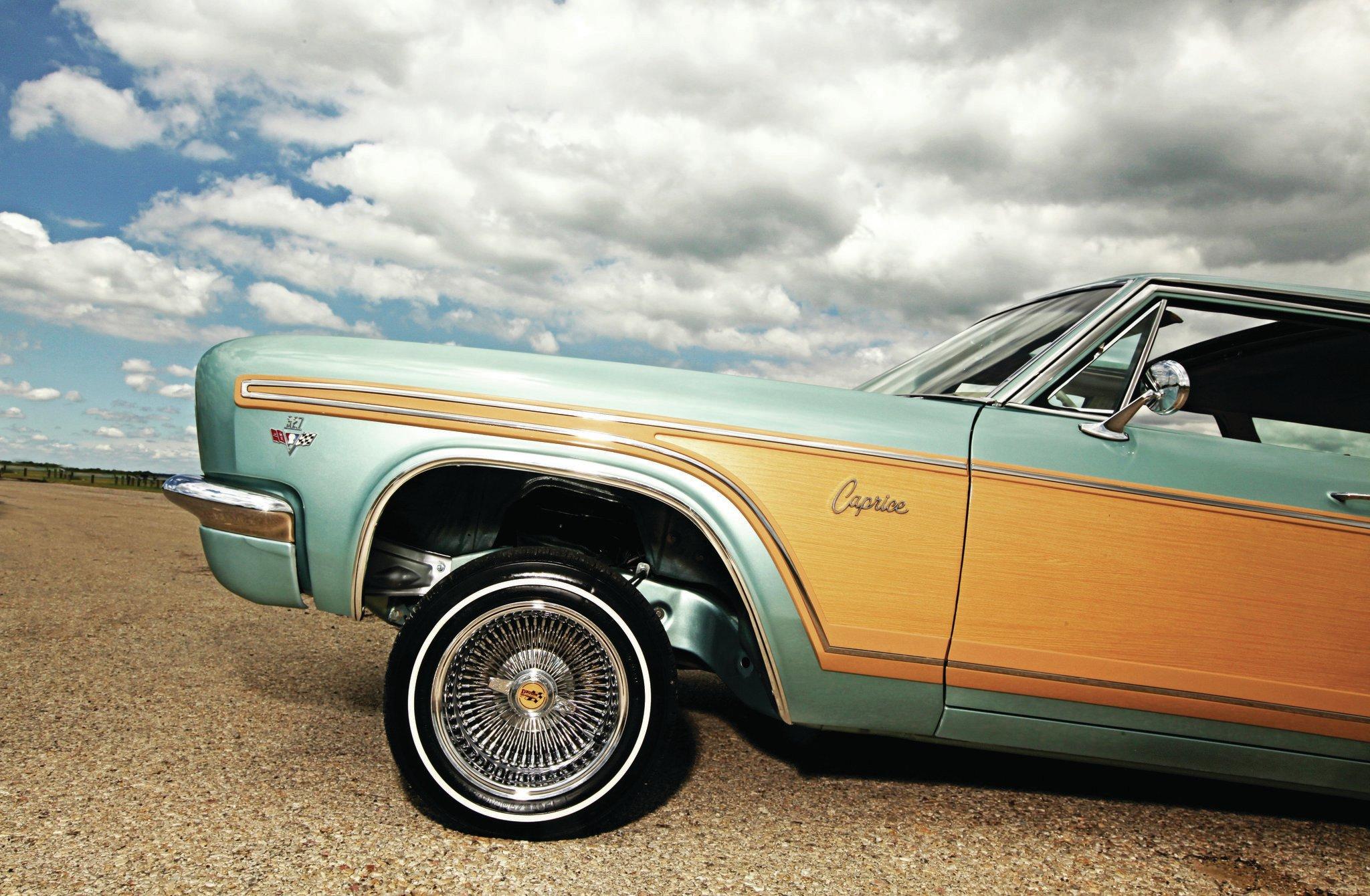 1966 CHEVROLET CAPRICE STATION WAGON CUSTOM, RUST-FREE ...   1966 Chevrolet Caprice Wagon