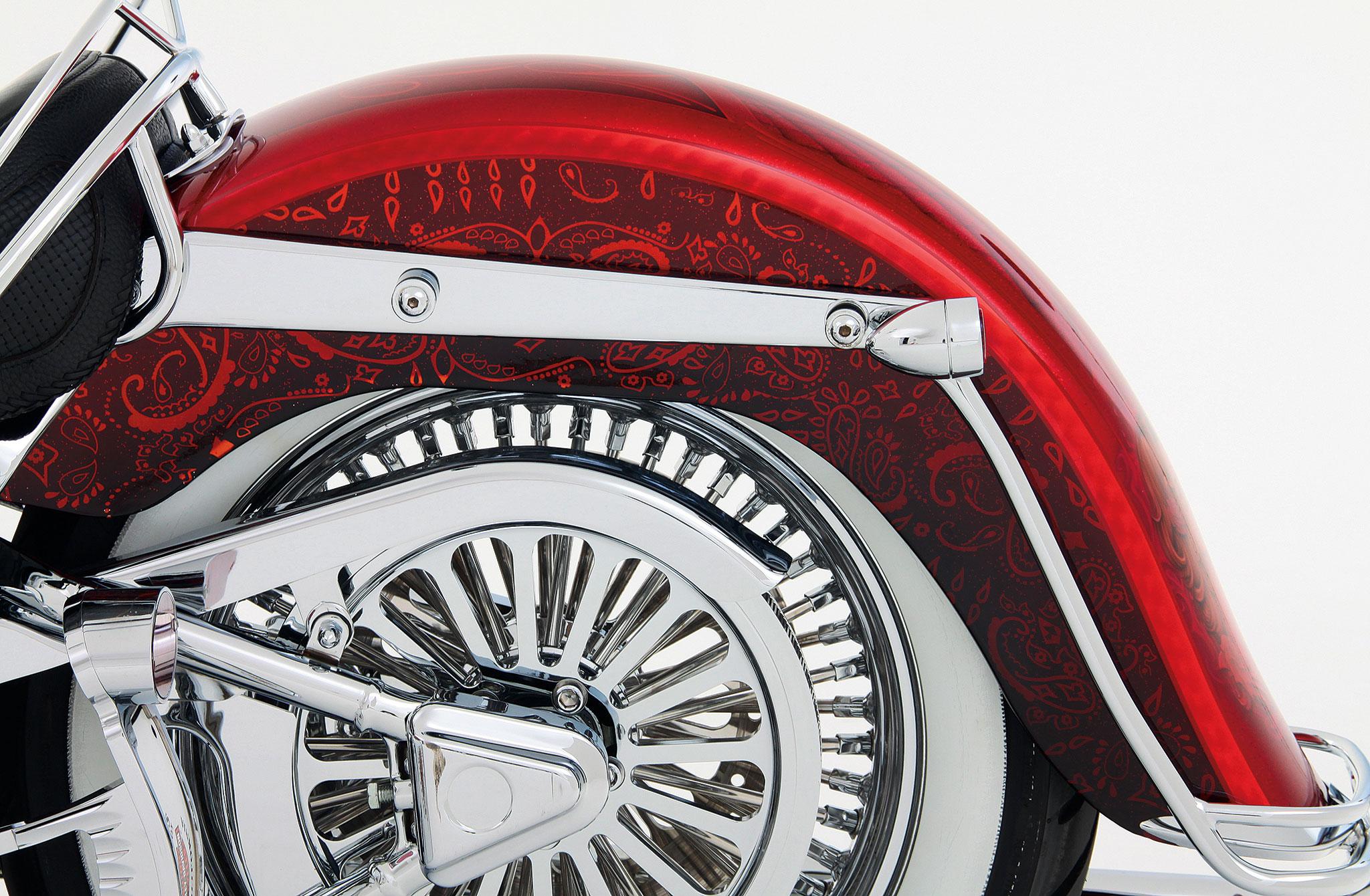 2005 Harley Davidson Softail Deluxe - Dia de Los Muertos ...