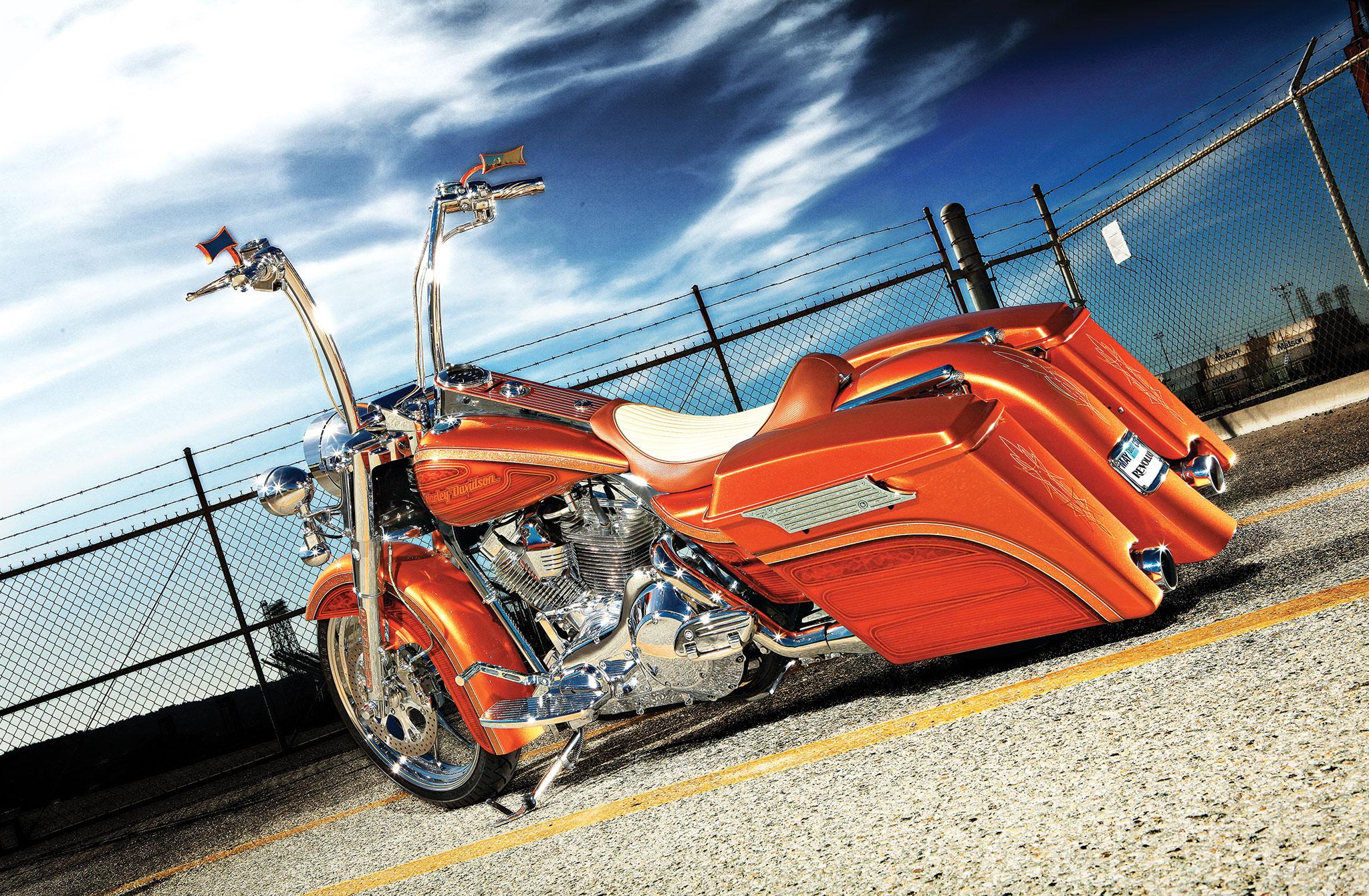 Hot Wheels Harley Davidson Road King