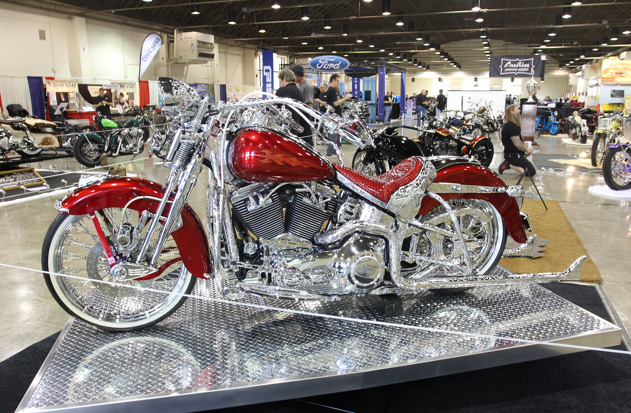 2015 Chevy Monte Carlo >> Motorcycles of the Grand National Roadster Show - Lowrider