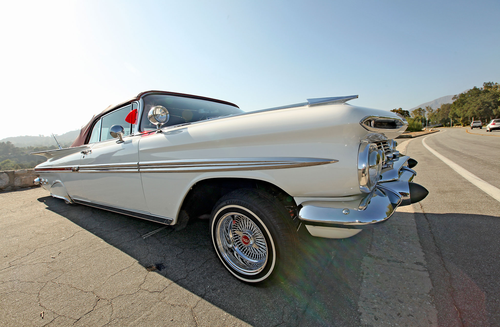 1959 Chevrolet Impala Convertible Semi Retired