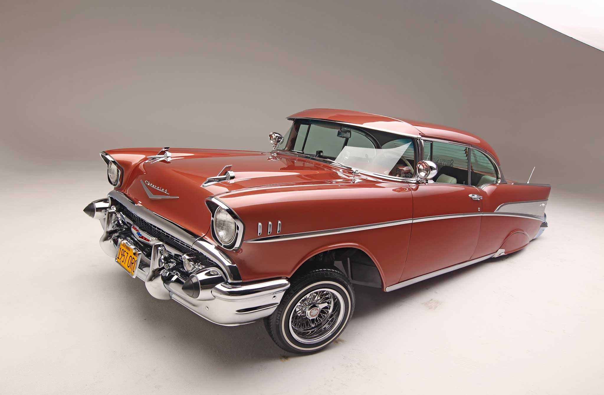 1957 Chevrolet Bel Air The Fresh King Of Chevy Impala Lowrider 17 24