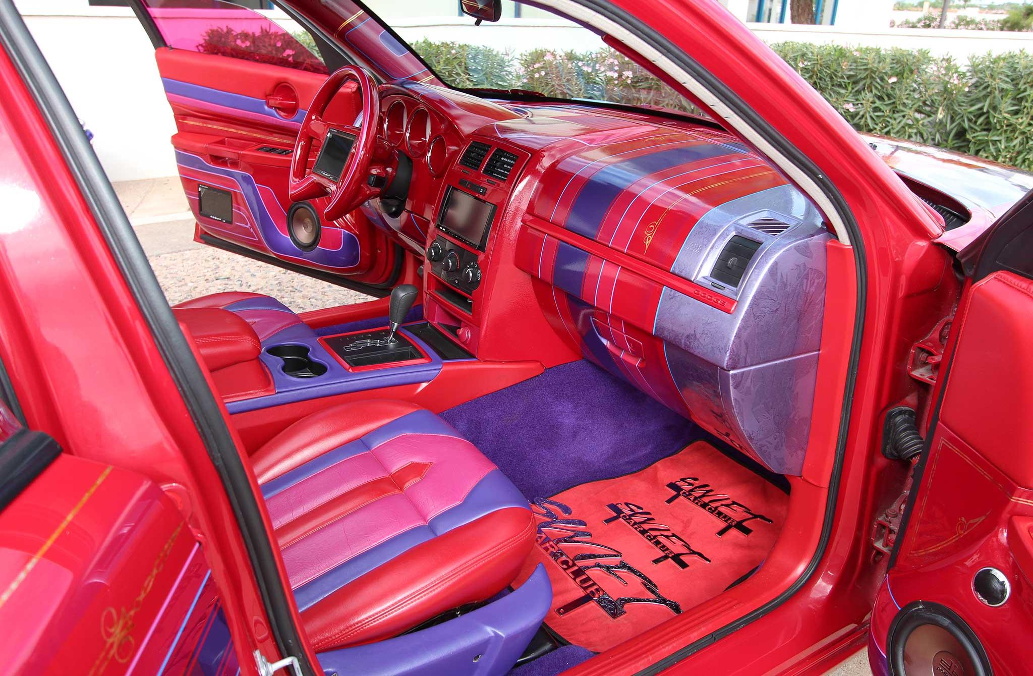 2008 Dodge Charger Custom Interior1 Lowrider