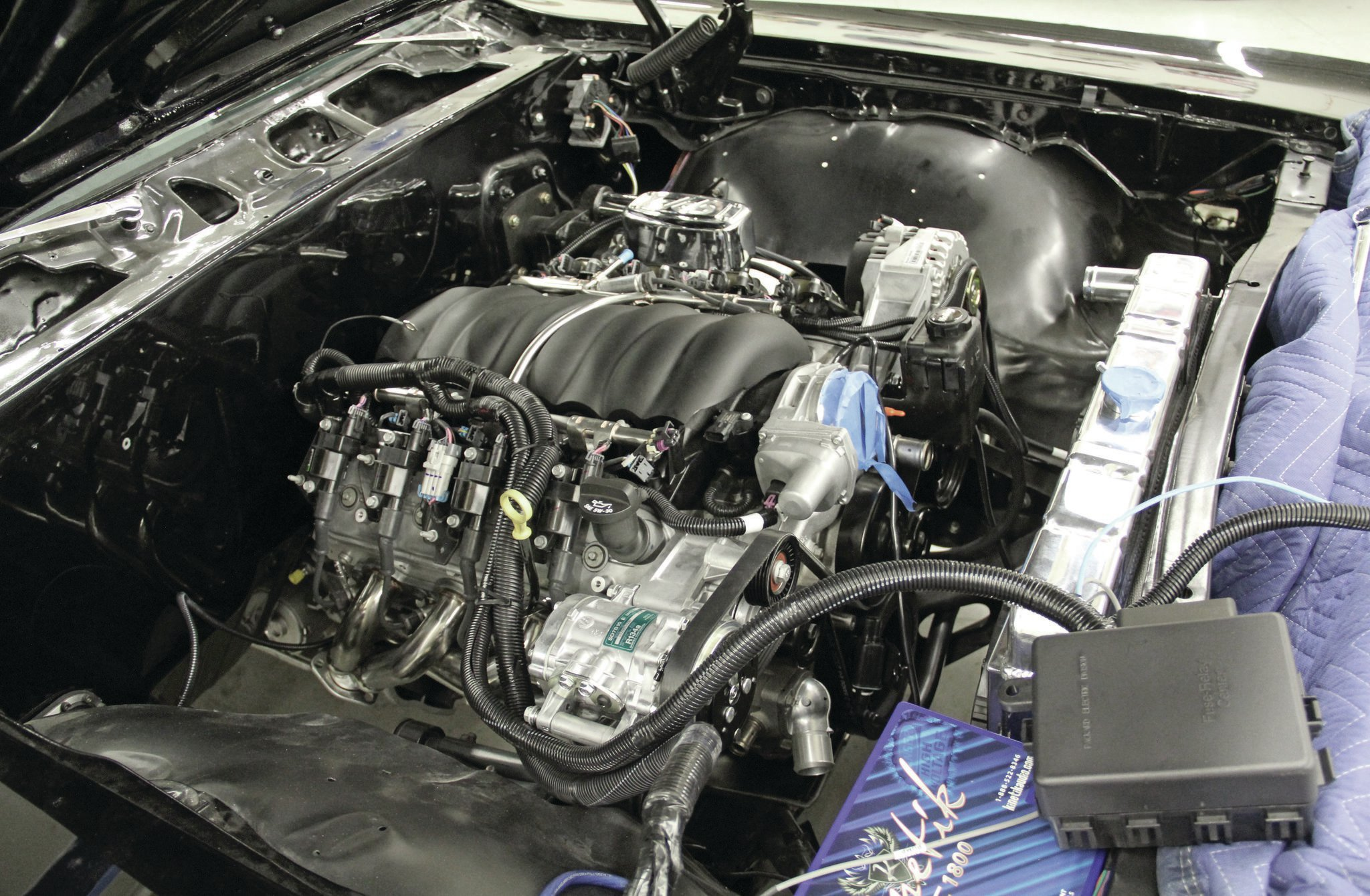 Chevy LS3 Install Part 2 - Put the Super in Super Sport