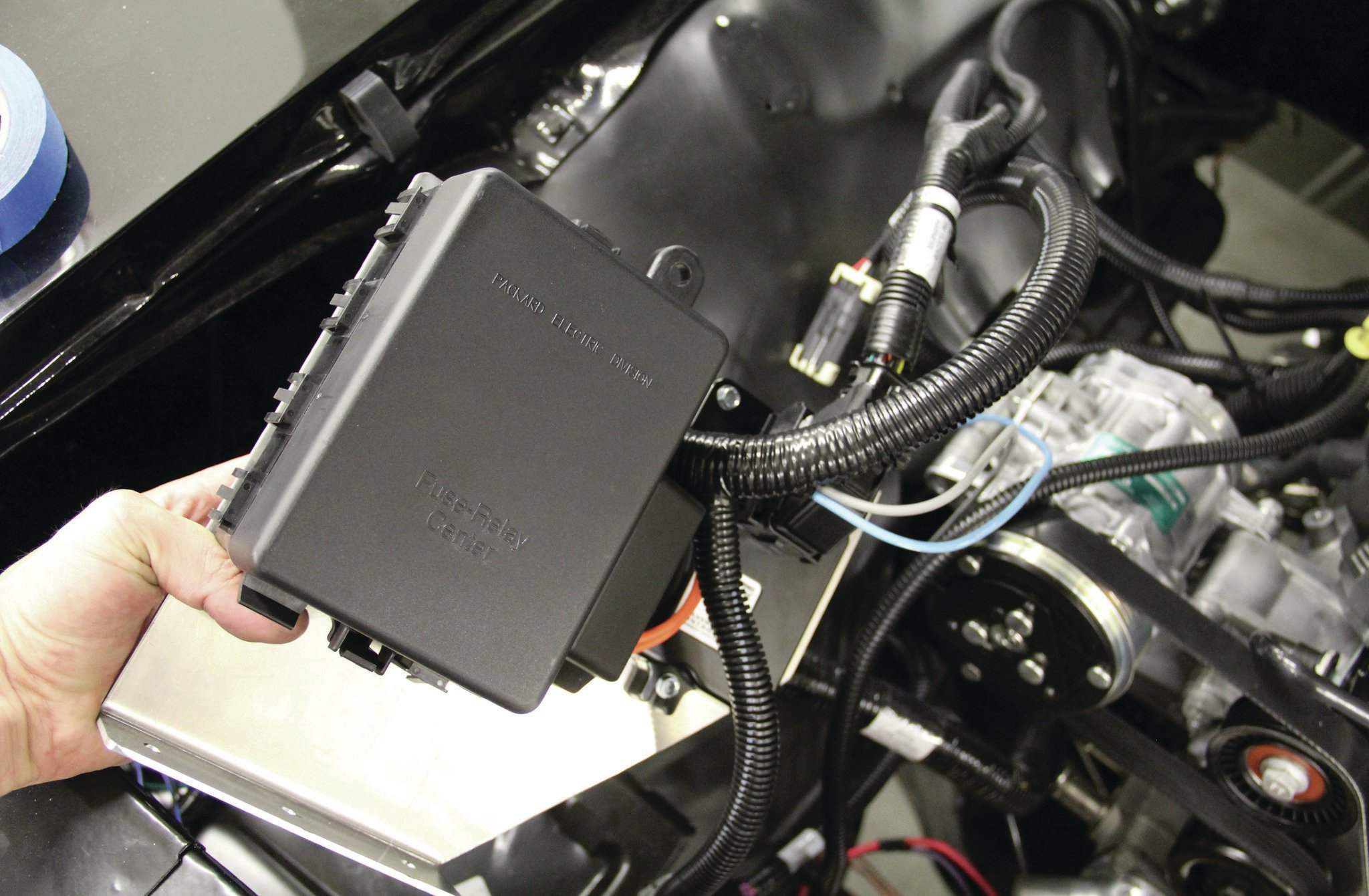 Stupendous Chevy Ls3 Install Part 2 Put The Super In Super Sport Wiring Digital Resources Ommitdefiancerspsorg