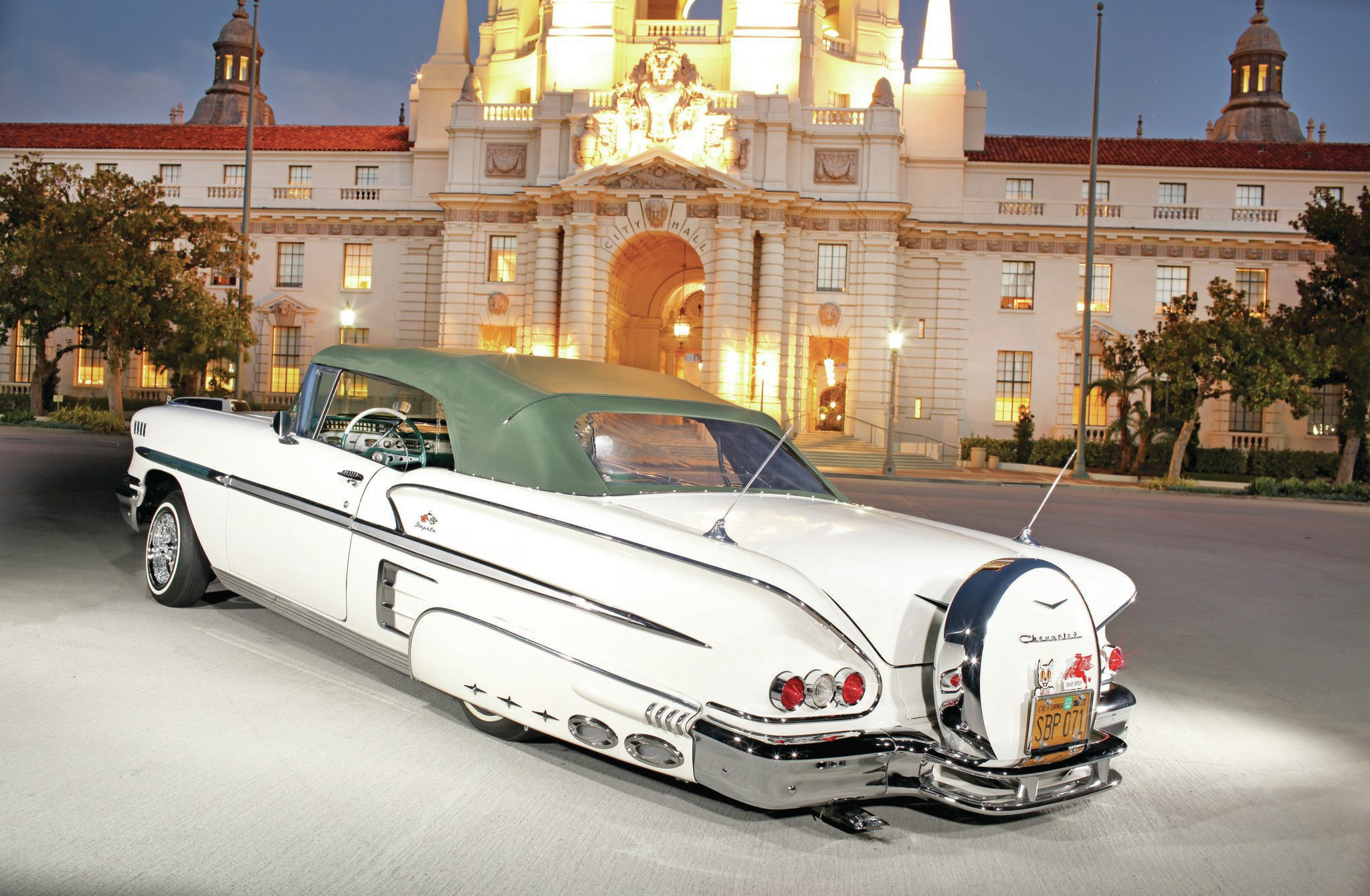 1958 Chevrolet Impala Convertible - The Engagement