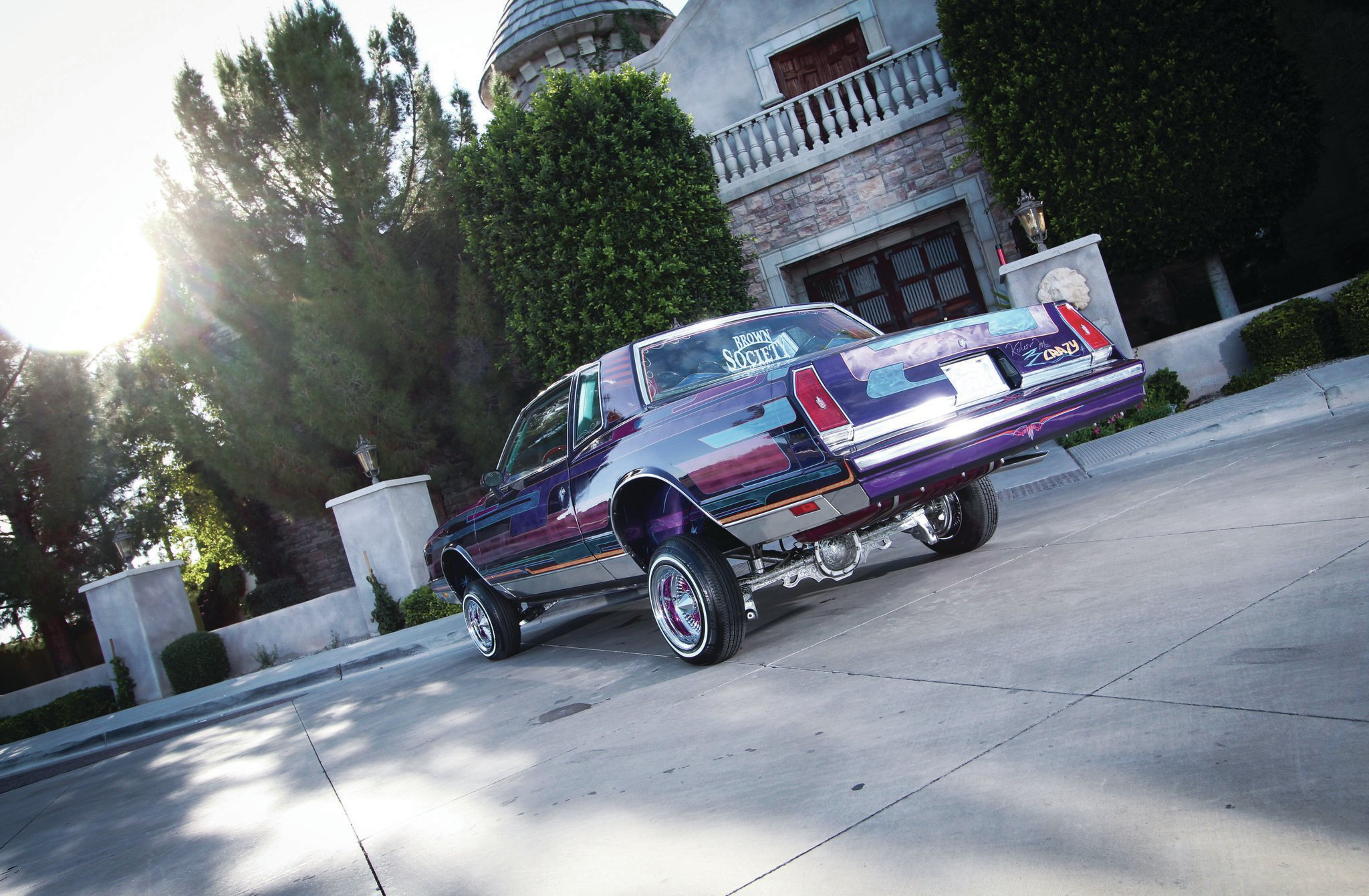 1983 Chevrolet Monte Carlo Driver Side Rear View Lowrider Chevy