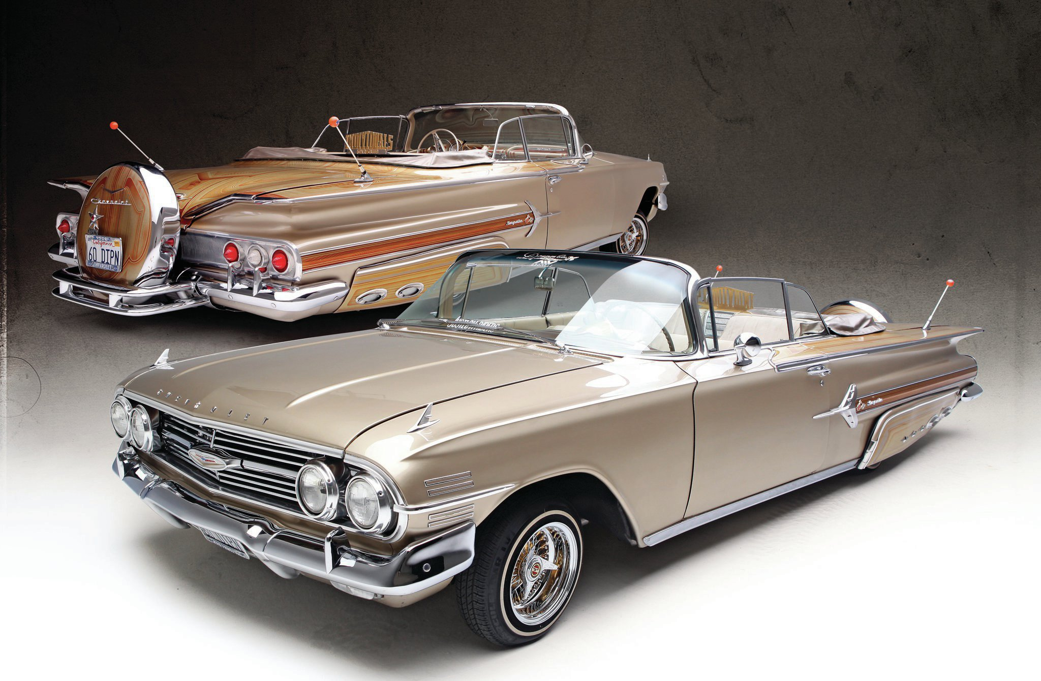 1960 Chevrolet Impala Convertible One Lucky Individual