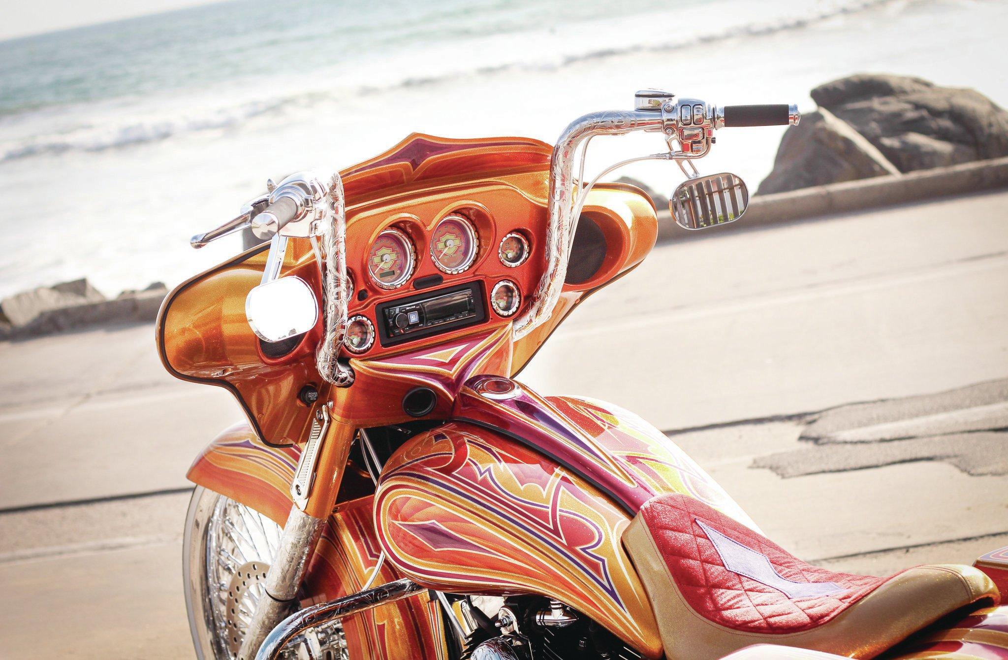 Harley Davidson Street Glide Custom Paint