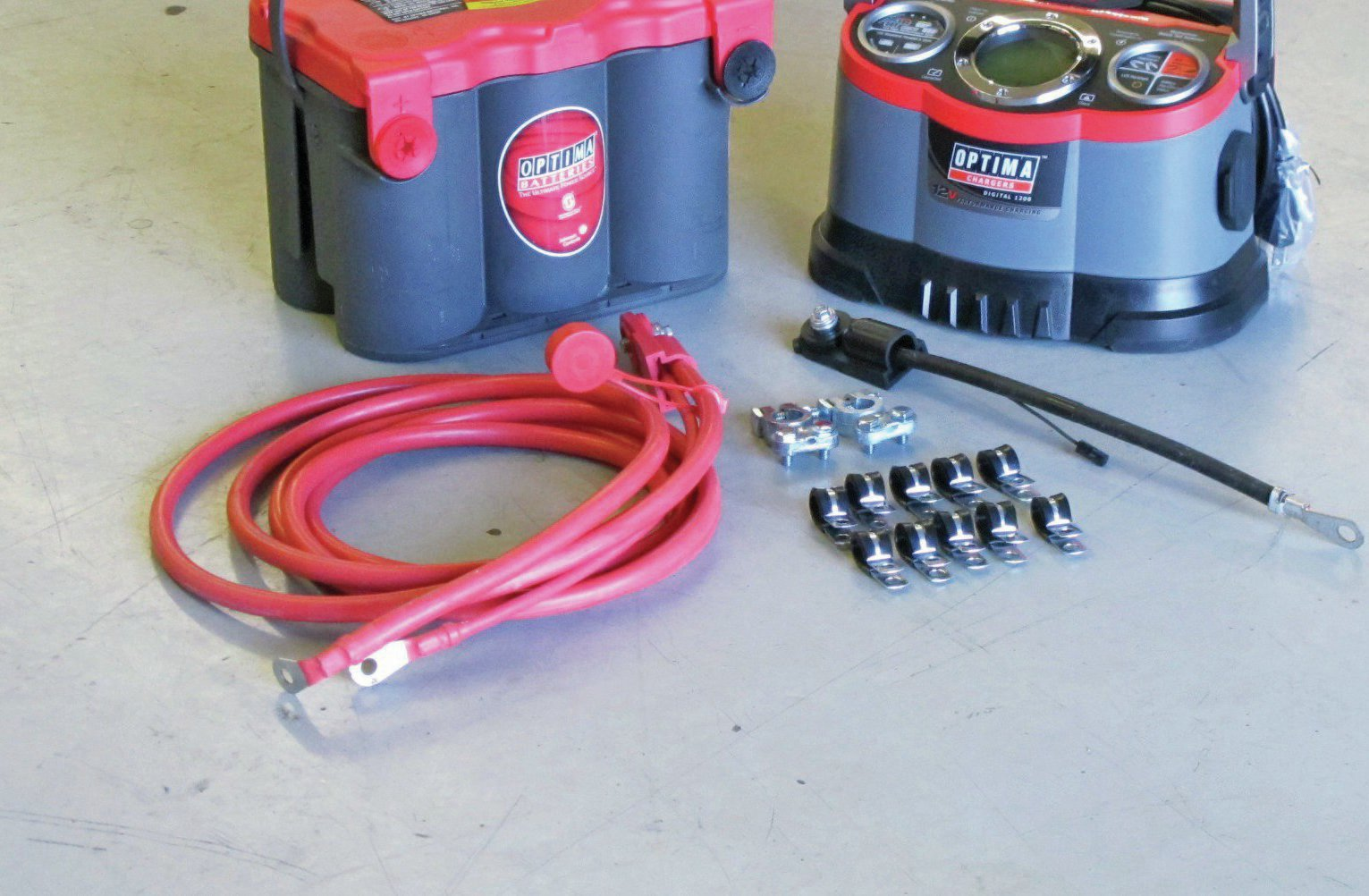 Battery Relocation & Preventive Maintenance