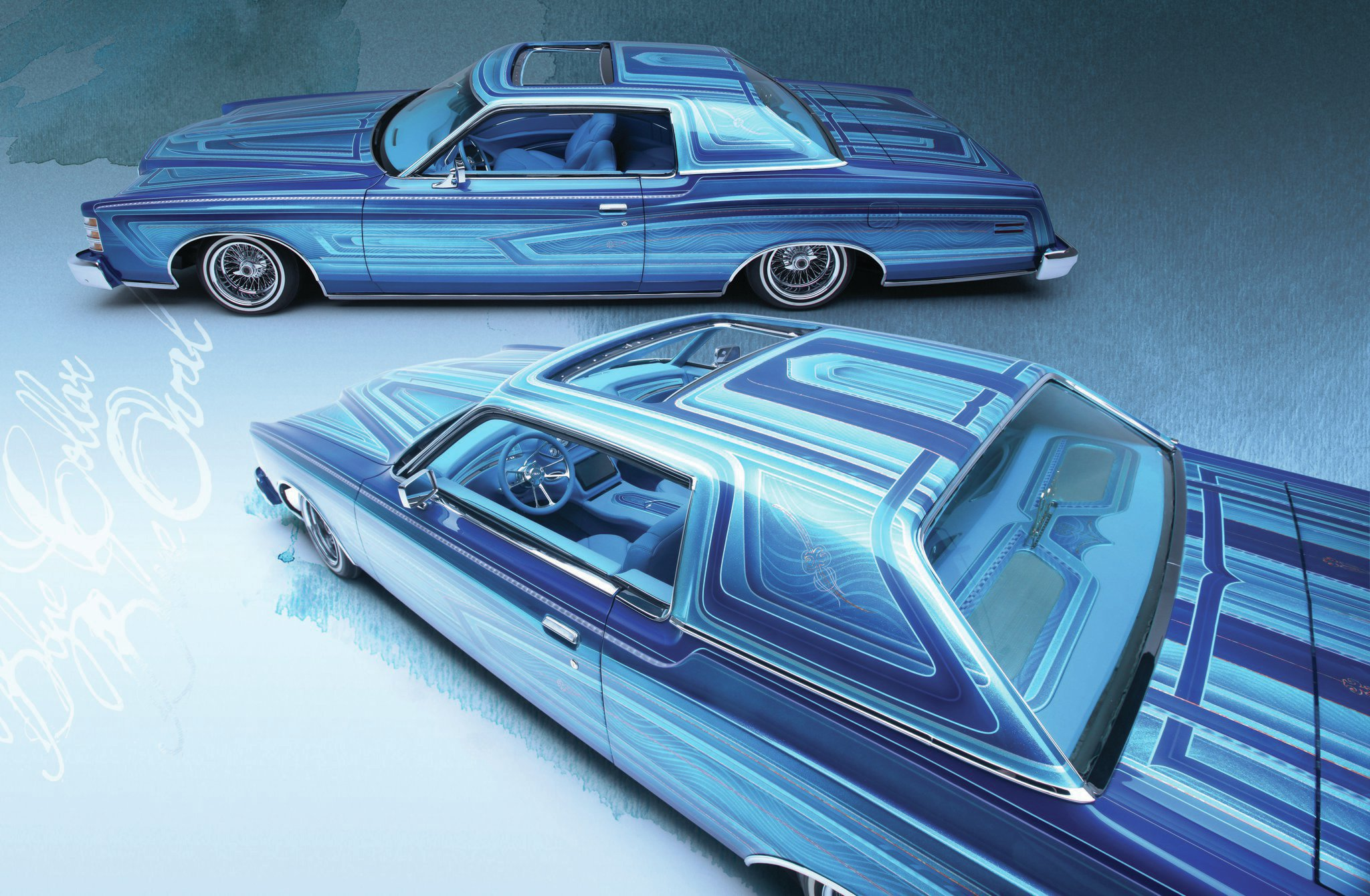 1973 Ford LTD - Blue Collar Blue Oval