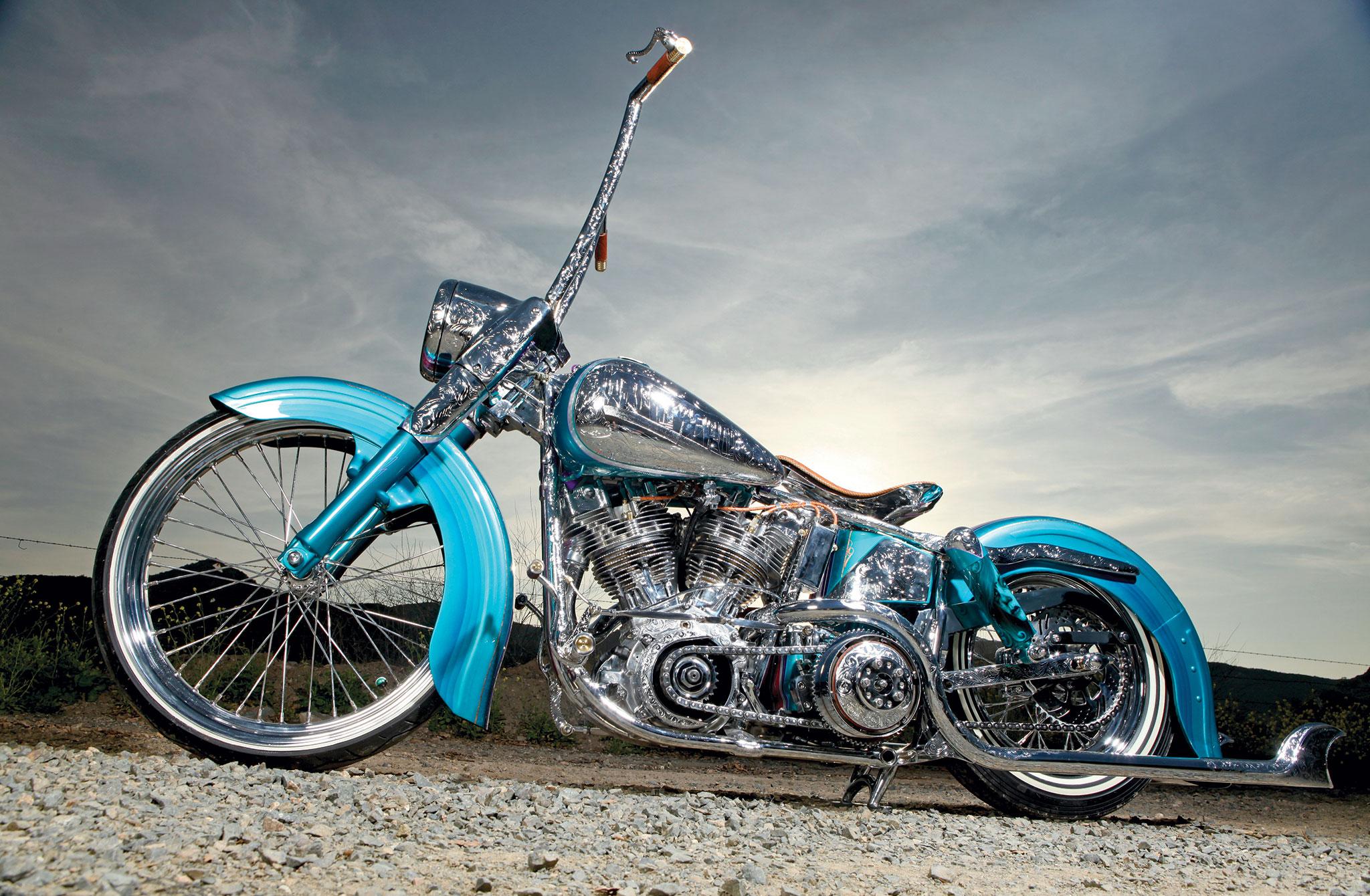 1974 Harley Davidson Shovelhead - Old's Cool - Lowrider