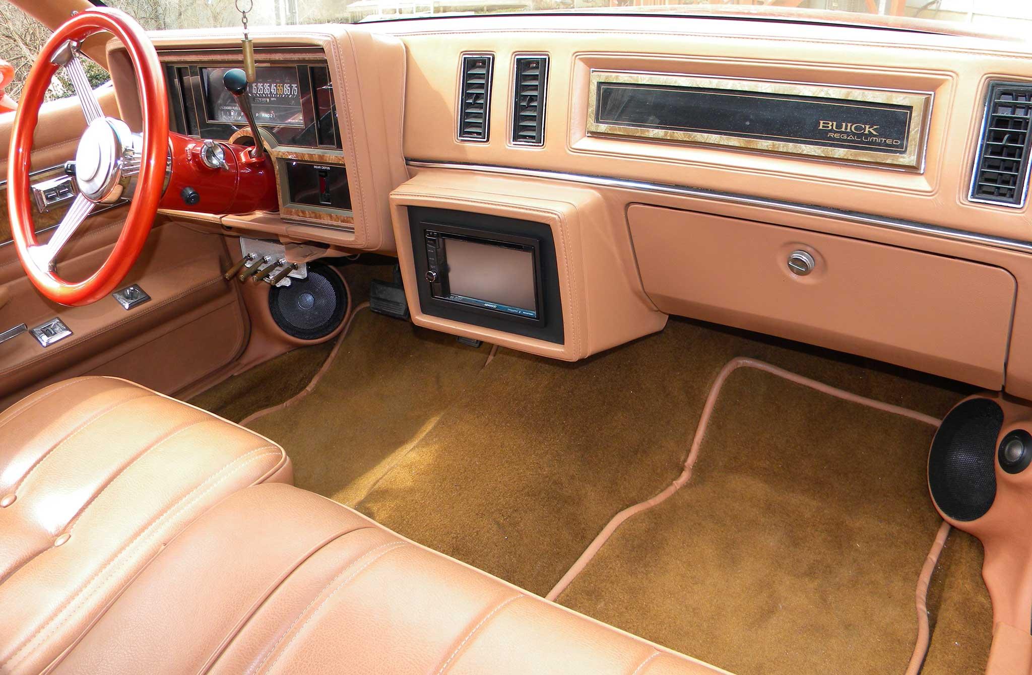 1985 Buick Regal Dashboard