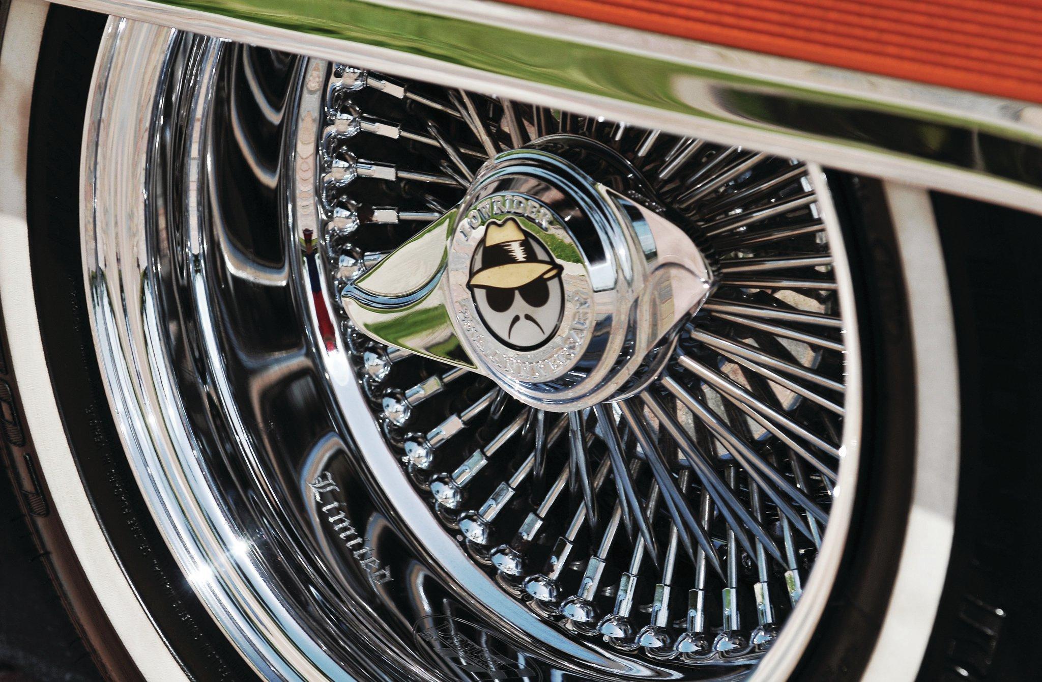 Cadillac Fleetwood Brougham Th Anniversary Dayton Wire Wheel