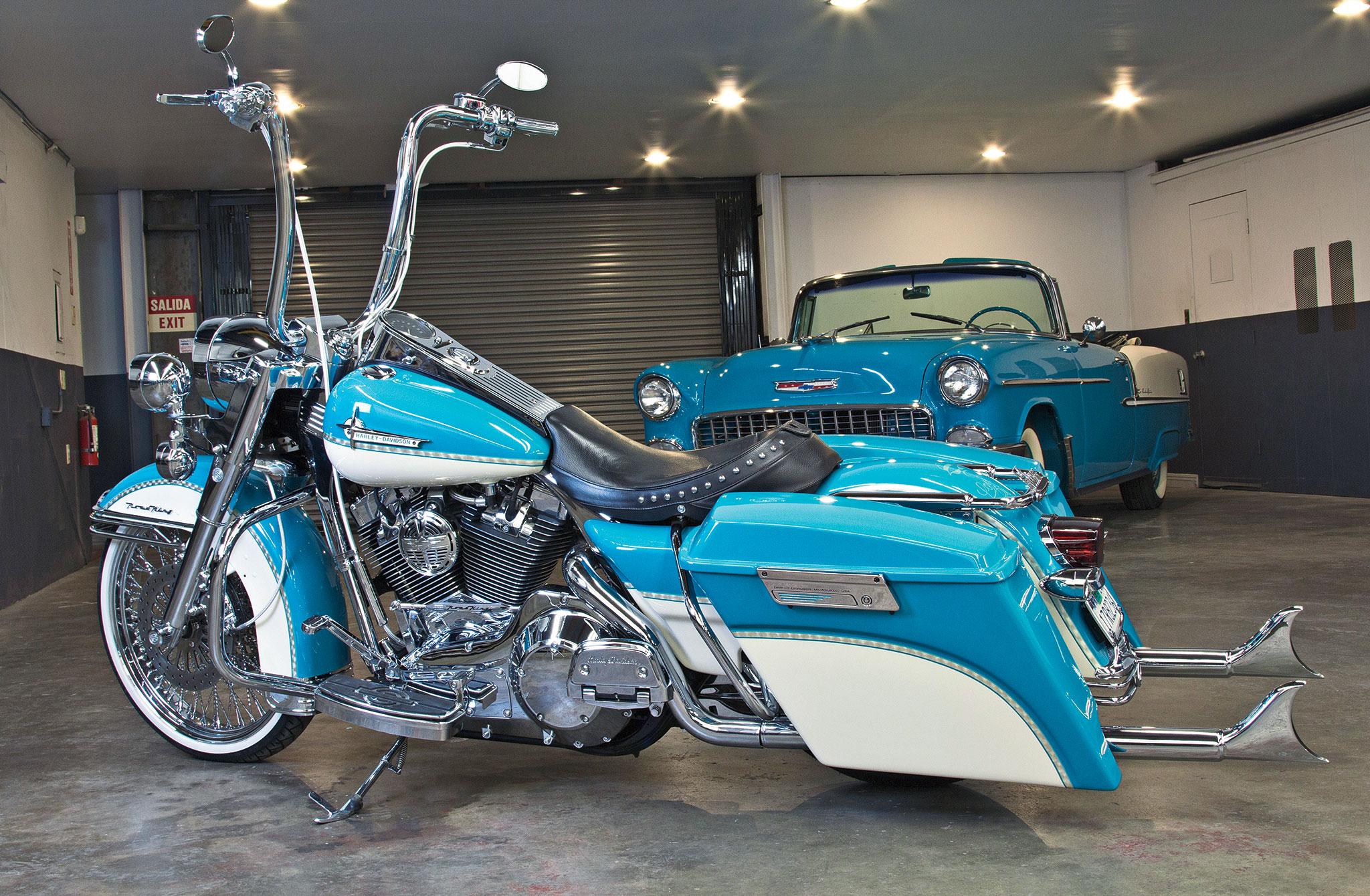 2005 Harley Davidson Road King Bel Air Bagger Lowrider