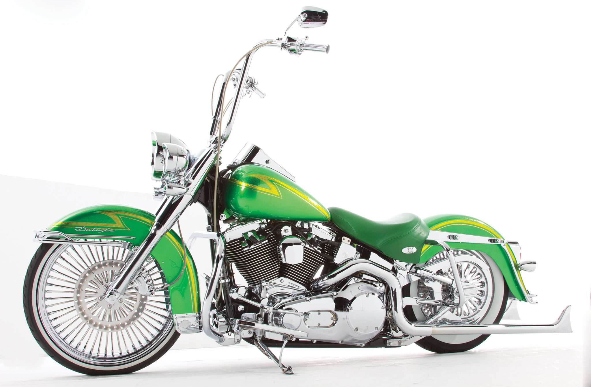 Images Of A   Harley Davidson Street  In Green
