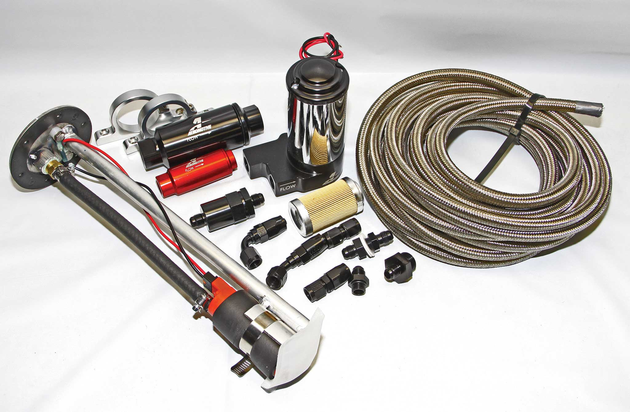 When it comes to fuel system components, Aeromotive can supply all the parts required to feed any engine.