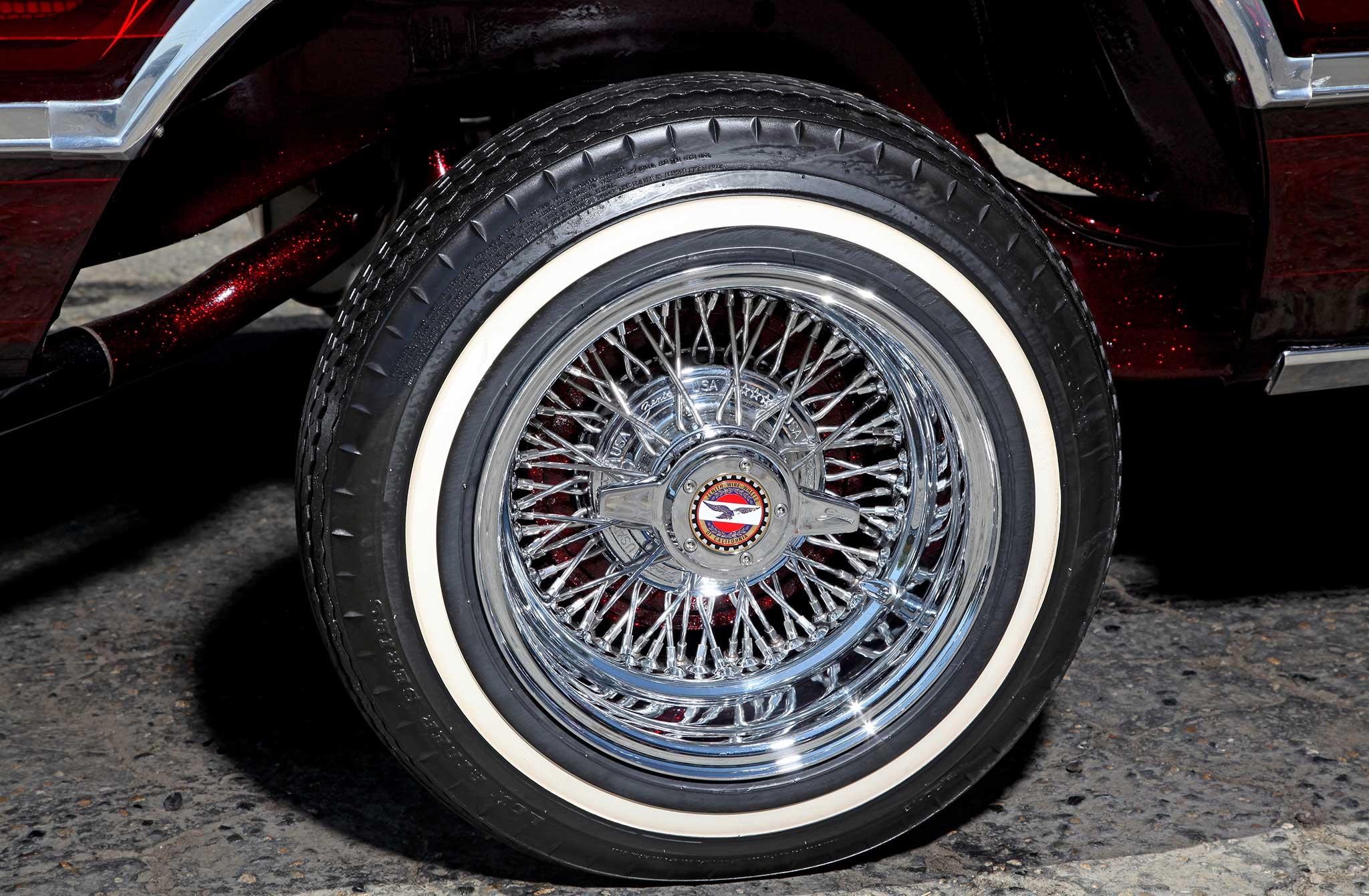 Chevrolet El Camino Zenith Wire Wheel