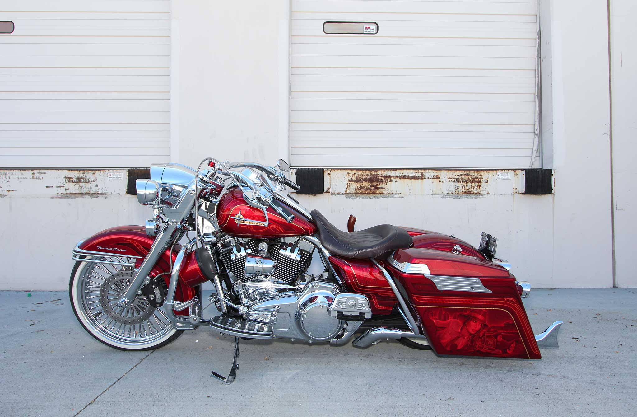 Lowrider Rims And Tires >> 2010 Harley-Davidson Road King - La Pachuca - Lowrider