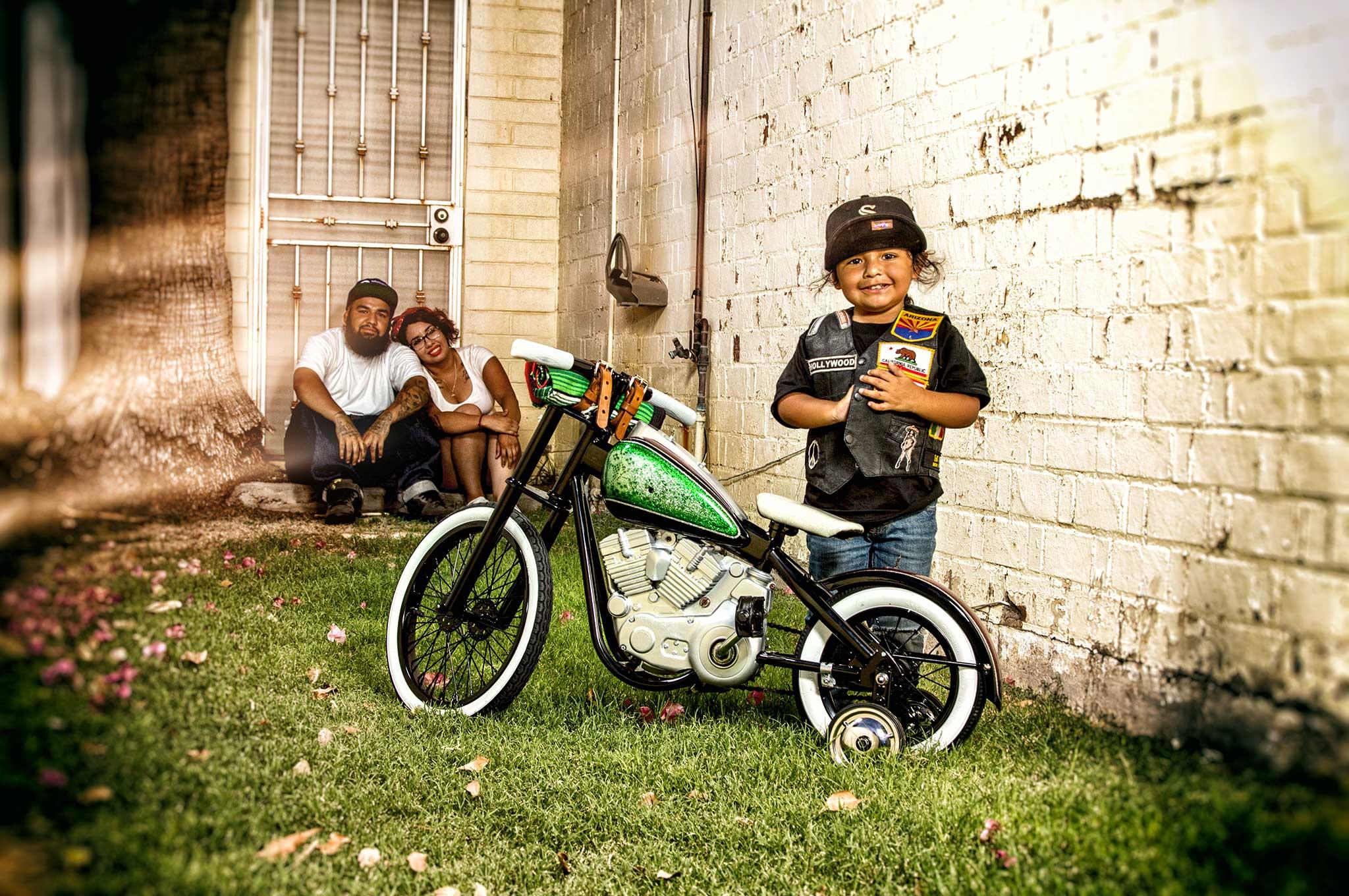 Harley Davidson Kid Bike Like Dad S Harley Lowrider