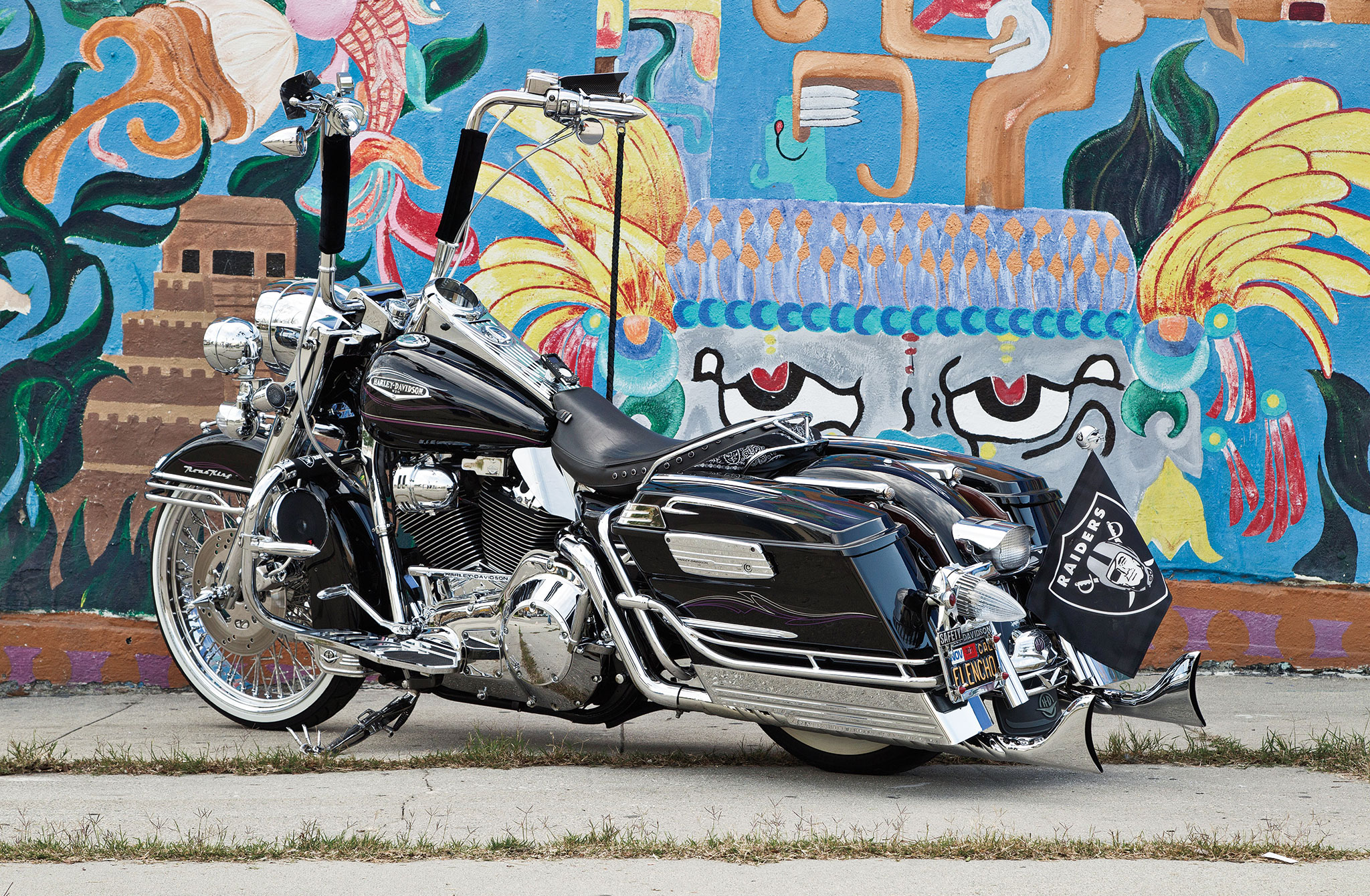 Harley St Jerome >> 1999 Harley Davidson Road King - Paying Respect - Lowrider