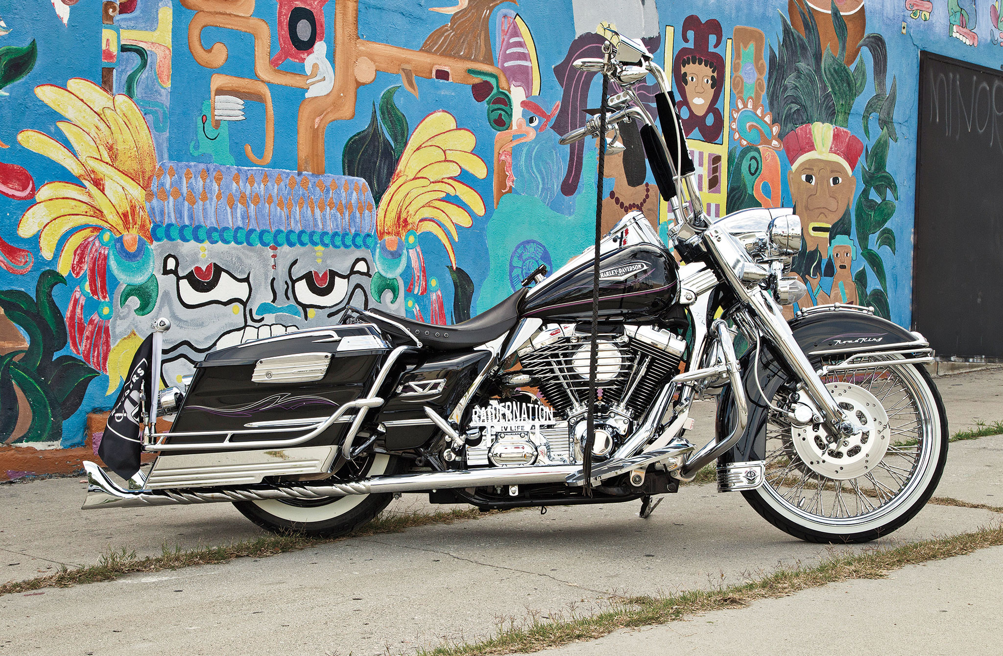1999 Harley Davidson Road King Paying Respect Lowrider