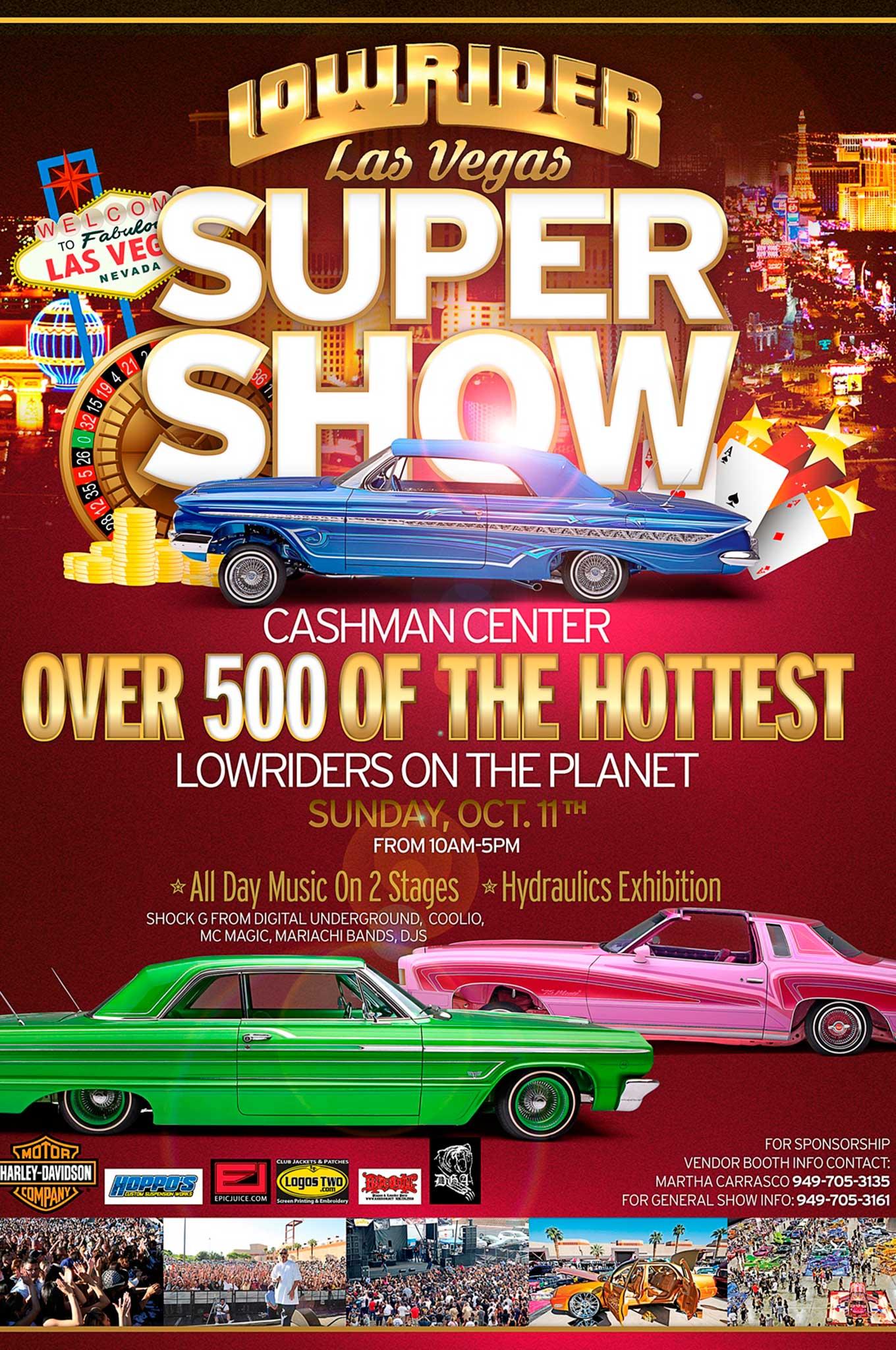 Las Vegas Super Show Lowrider - Lowrider car show las vegas