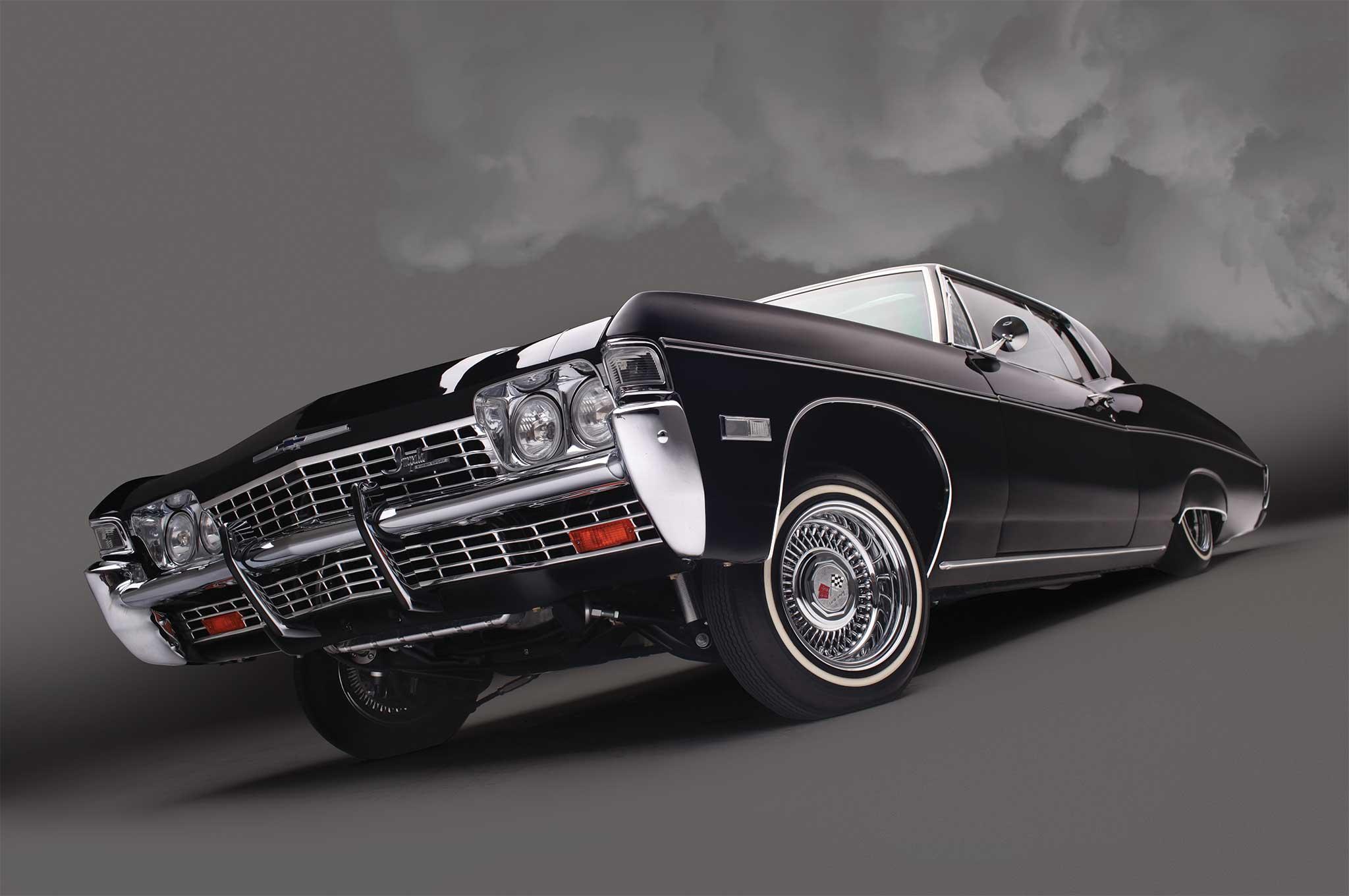 1968 Chevrolet Impala SS - Black on Black Comeback - Lowrider