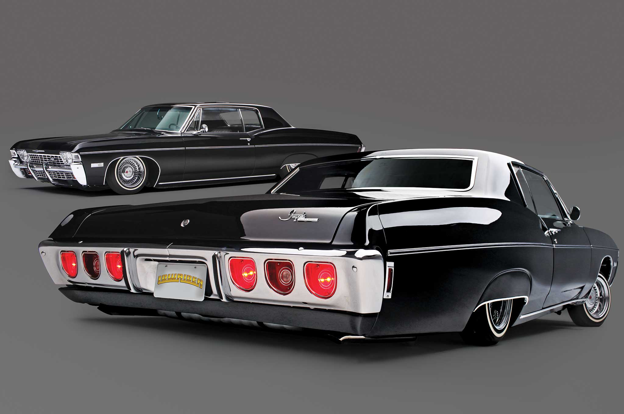 Chevy Ss Interior >> 1968 Chevrolet Impala SS - Black on Black Comeback - Lowrider