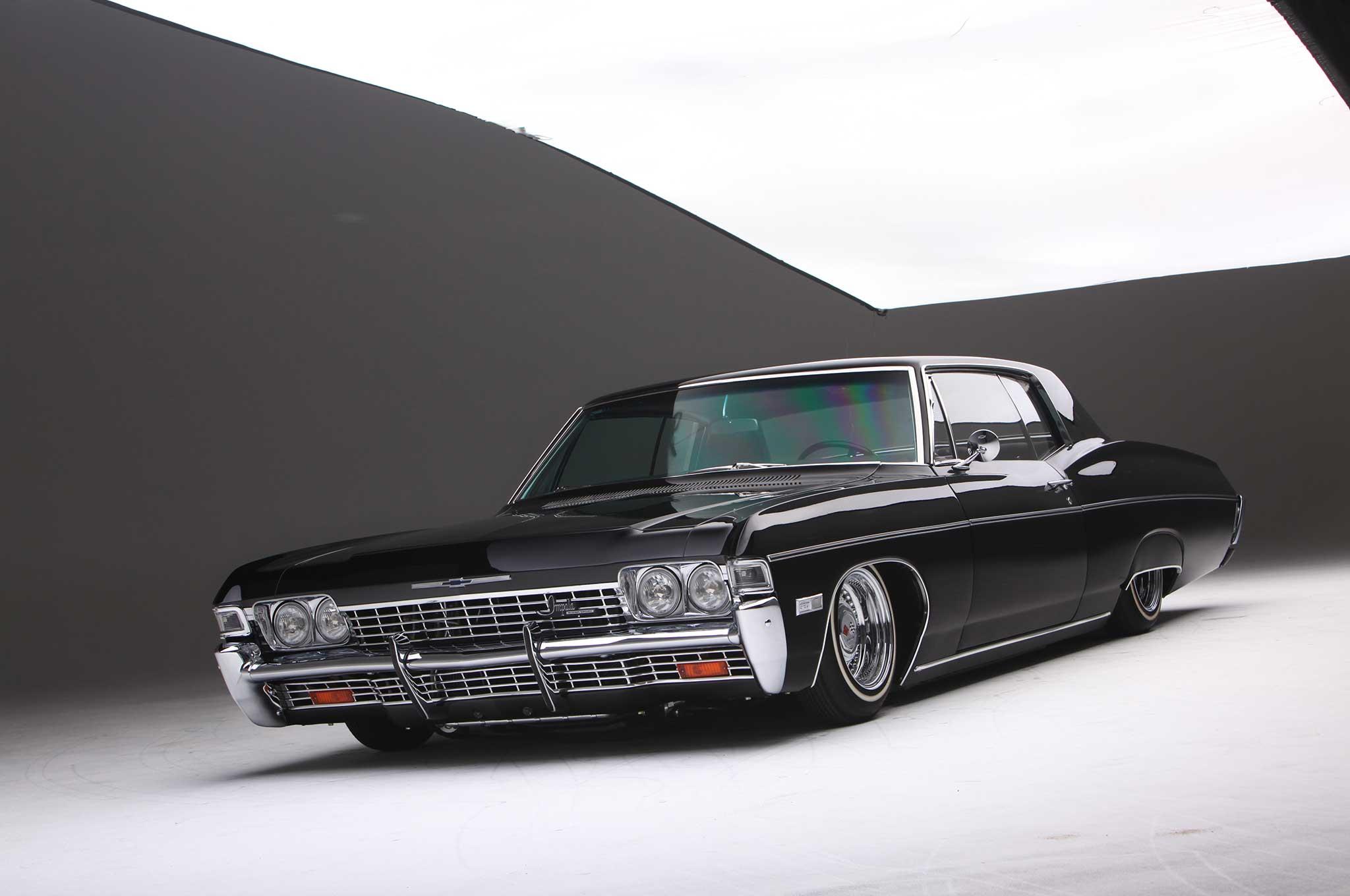 2018 Chevy Impala Ss >> 1968 Chevrolet Impala SS - Black on Black Comeback - Lowrider