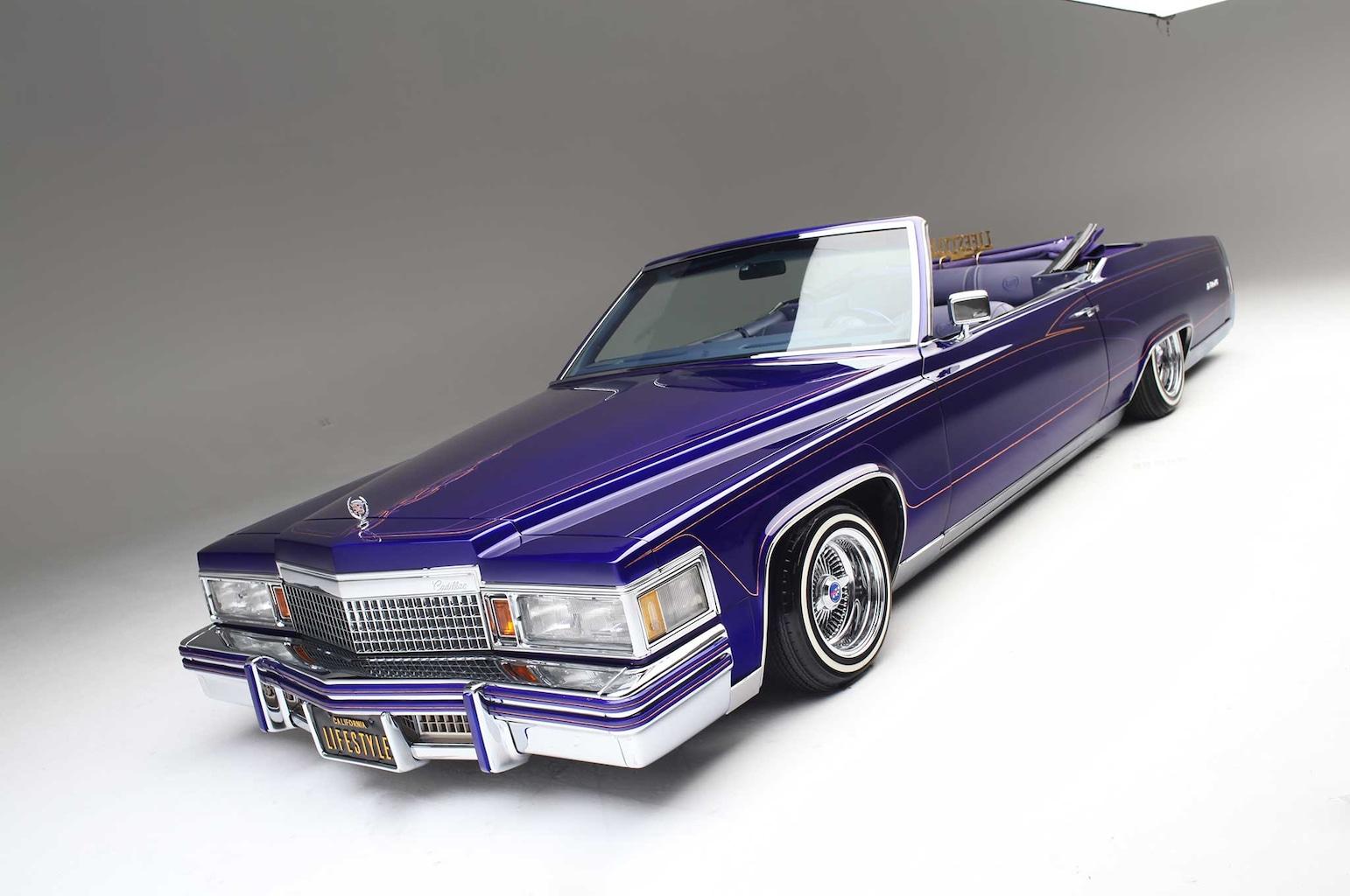 Sites Similar To Craigslist >> 1979 Cadillac Le Cabriolet - Purple Rein - Lowrider