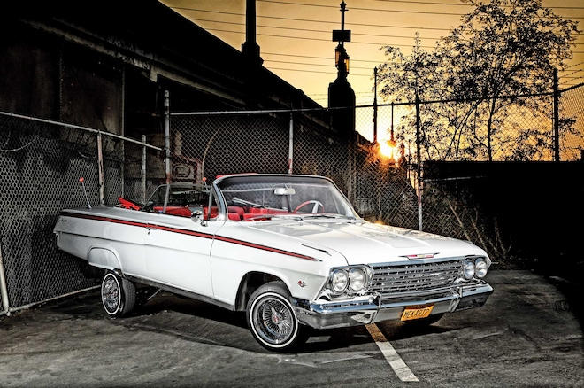 Chevrolet Impala Convertible Passenger Side Front View on All Car Body Parts Named