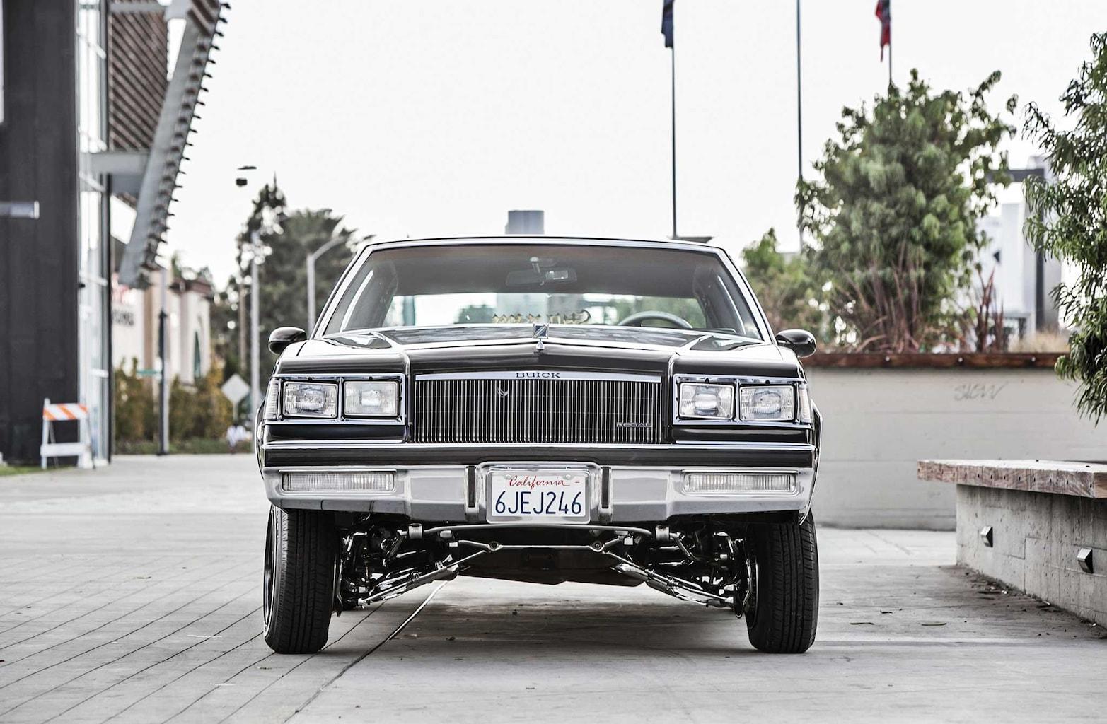 001 1984 buick regal front fascia