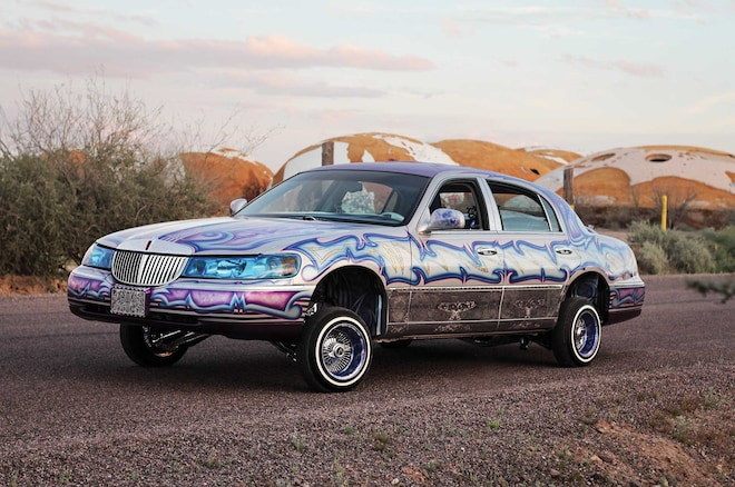1999 Lincoln Town Car Str8 Payasiando Lowrider