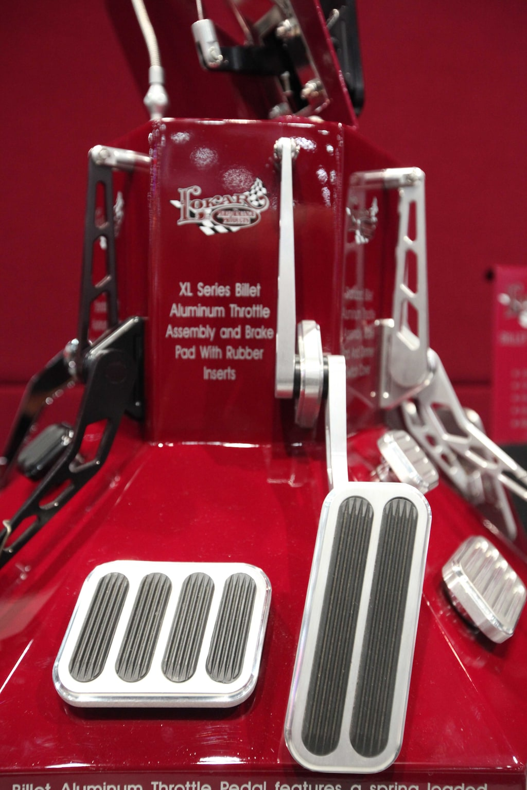 002 interior necessities at sema lokar aluminum pedals 2015