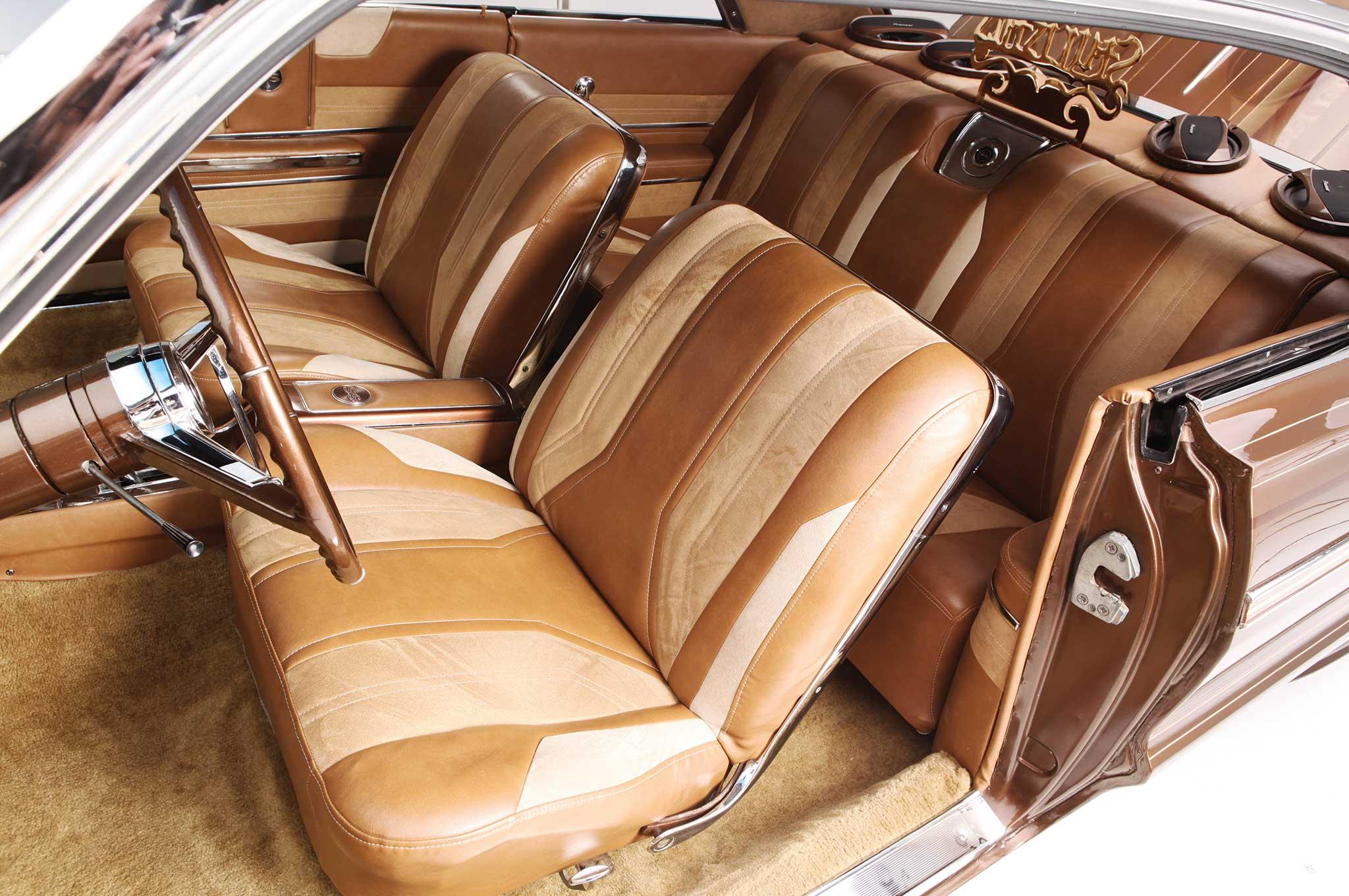 003 1964 chevrolet impala front seats