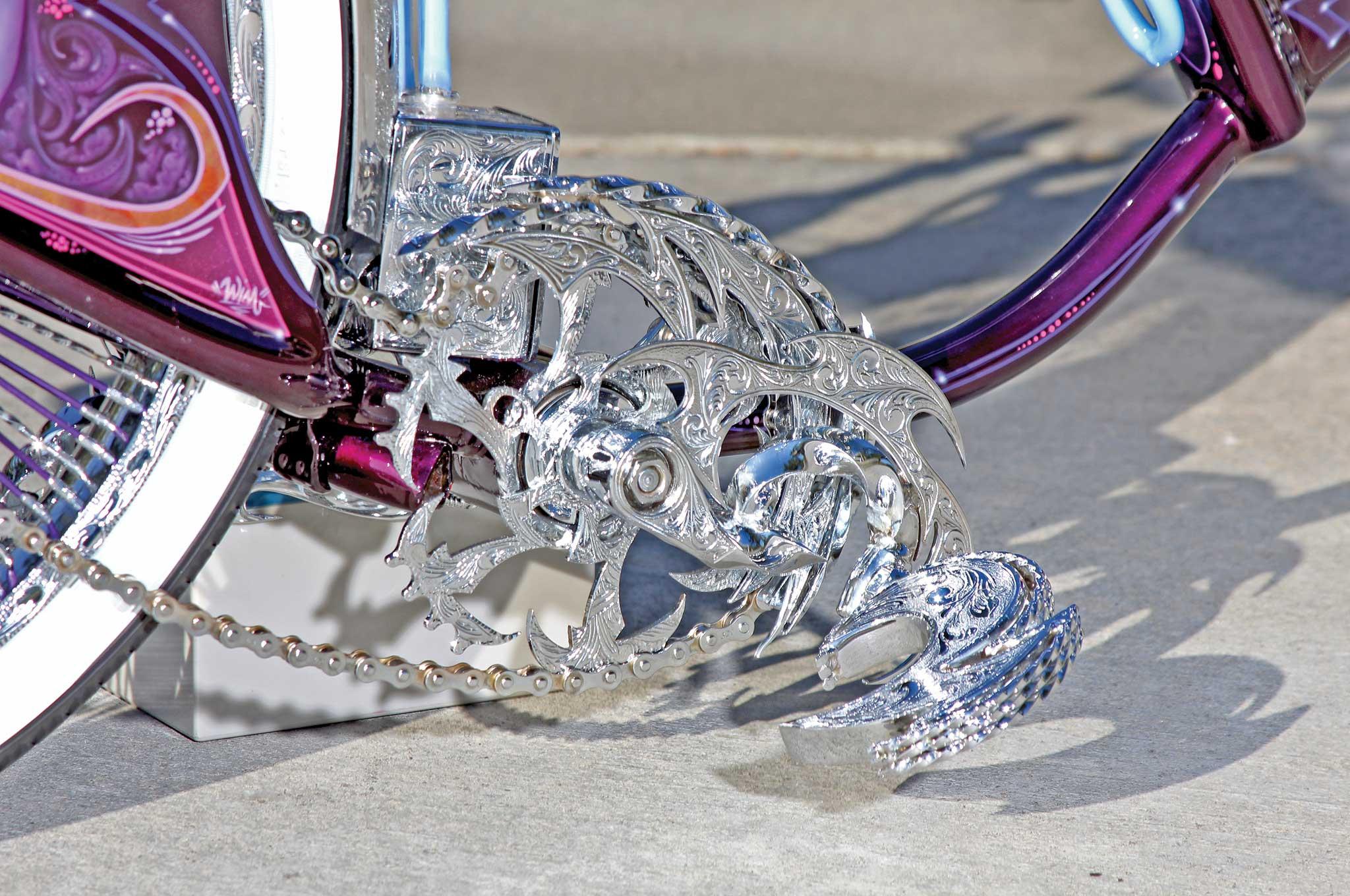 003 1967 schwinn bicycle custom pedal